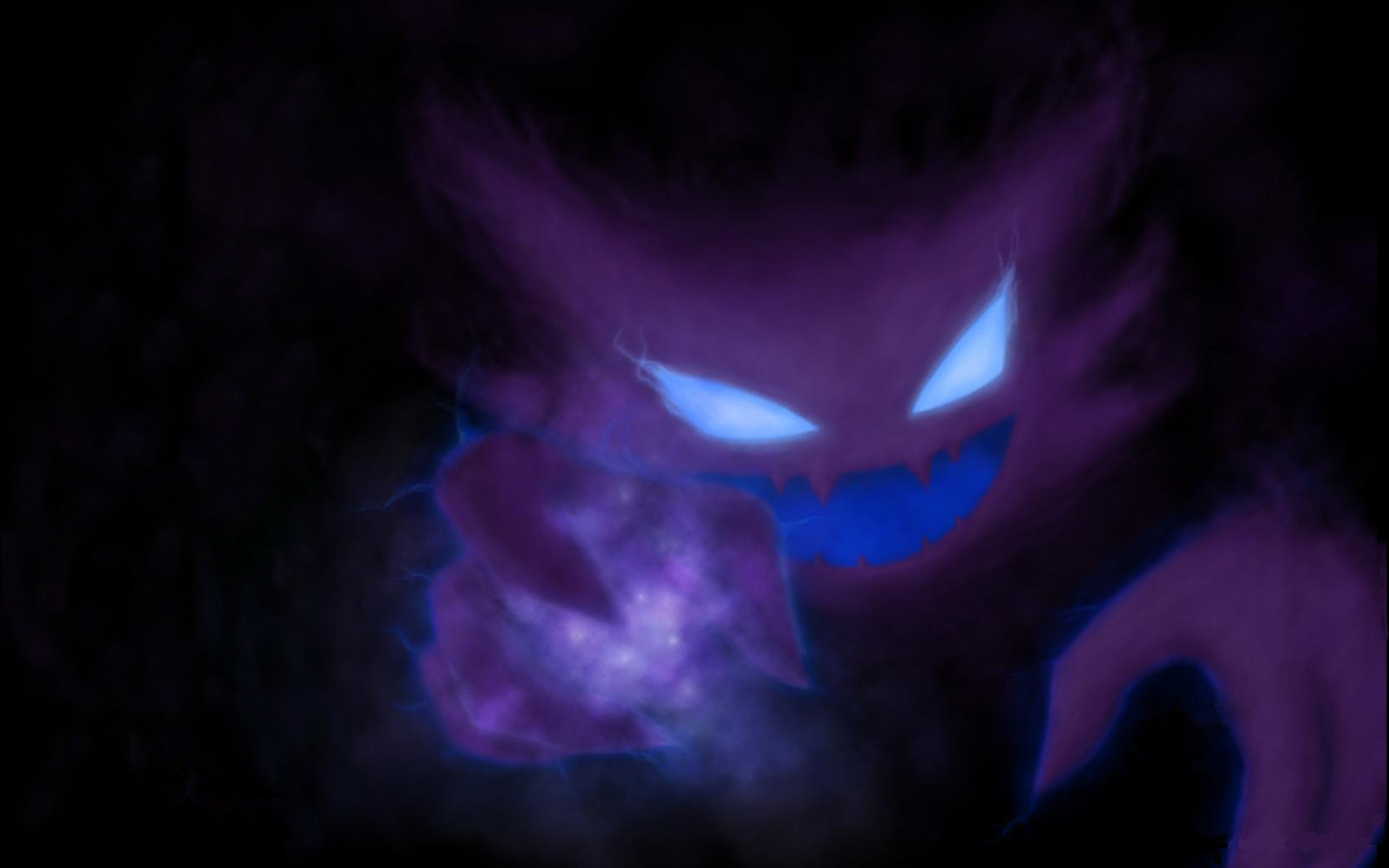 Download hd 1920x1200 Haunter (Pokemon) PC wallpaper ID:280386 for free