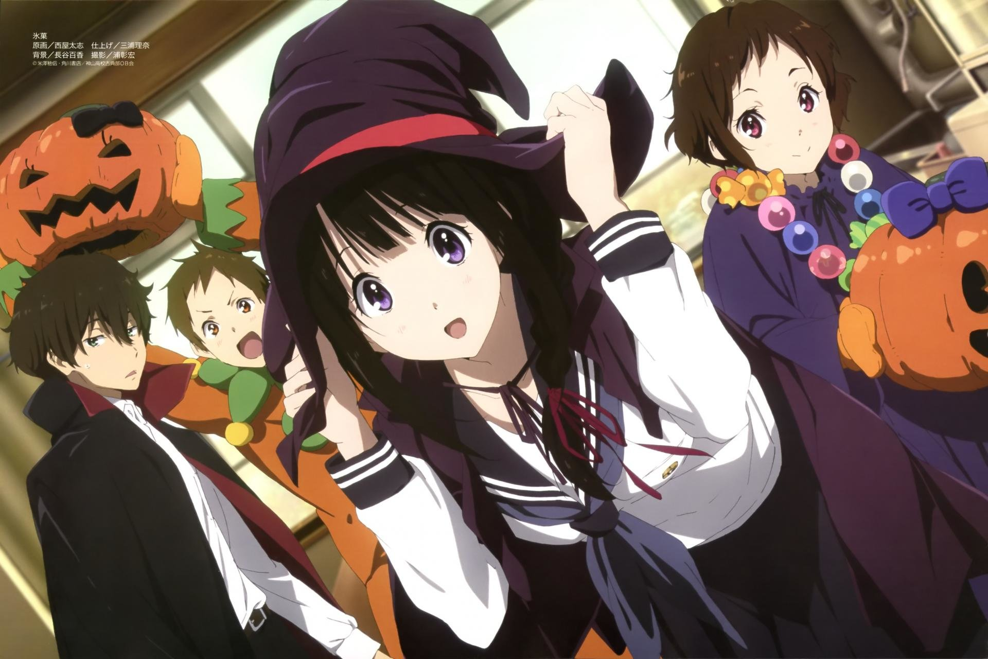 Free download Hyouka wallpaper ID:137991 hd 1920x1280 for PC