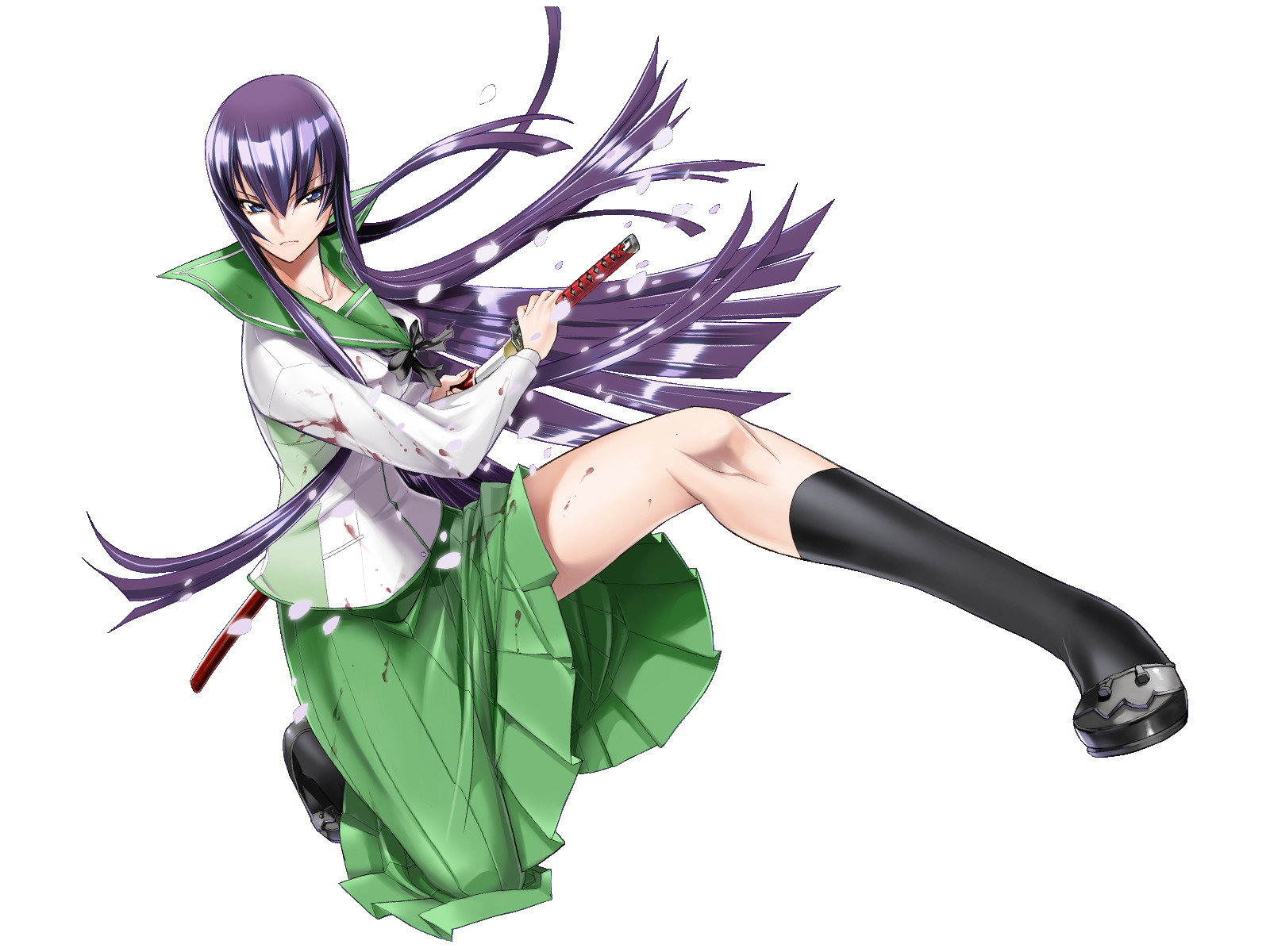 Awesome Saeko Busujima free wallpaper ID:447721 for hd 1600x1200 PC