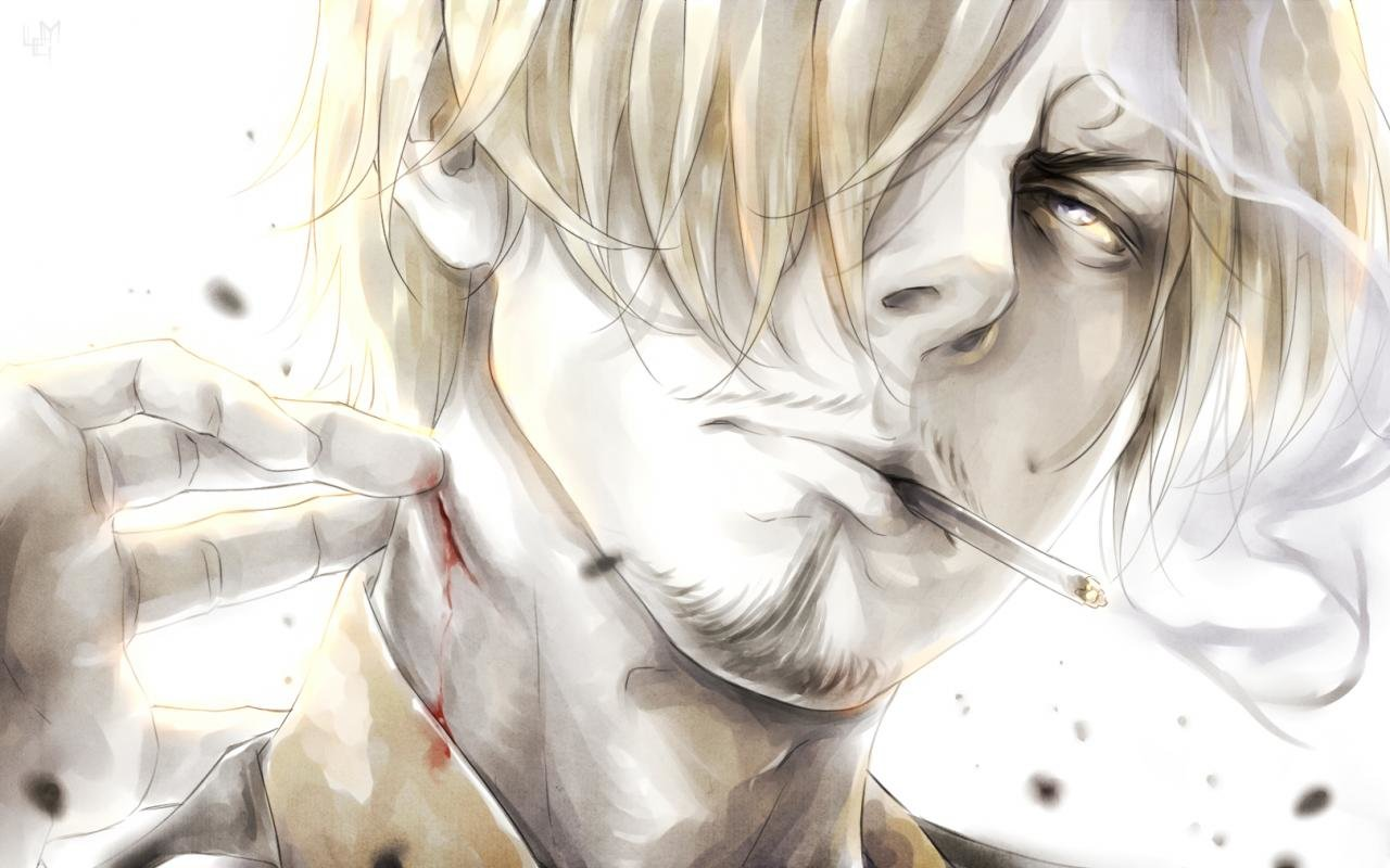 Free Sanji (One Piece) high quality background ID:314027 for hd 1280x800 computer