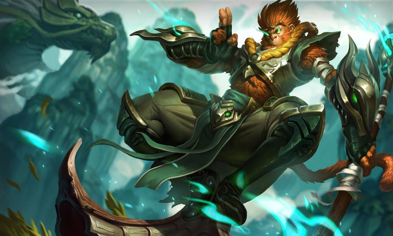 High Resolution Wukong League Of Legends Hd 1280x768 Wallpaper ID171341 For Computer