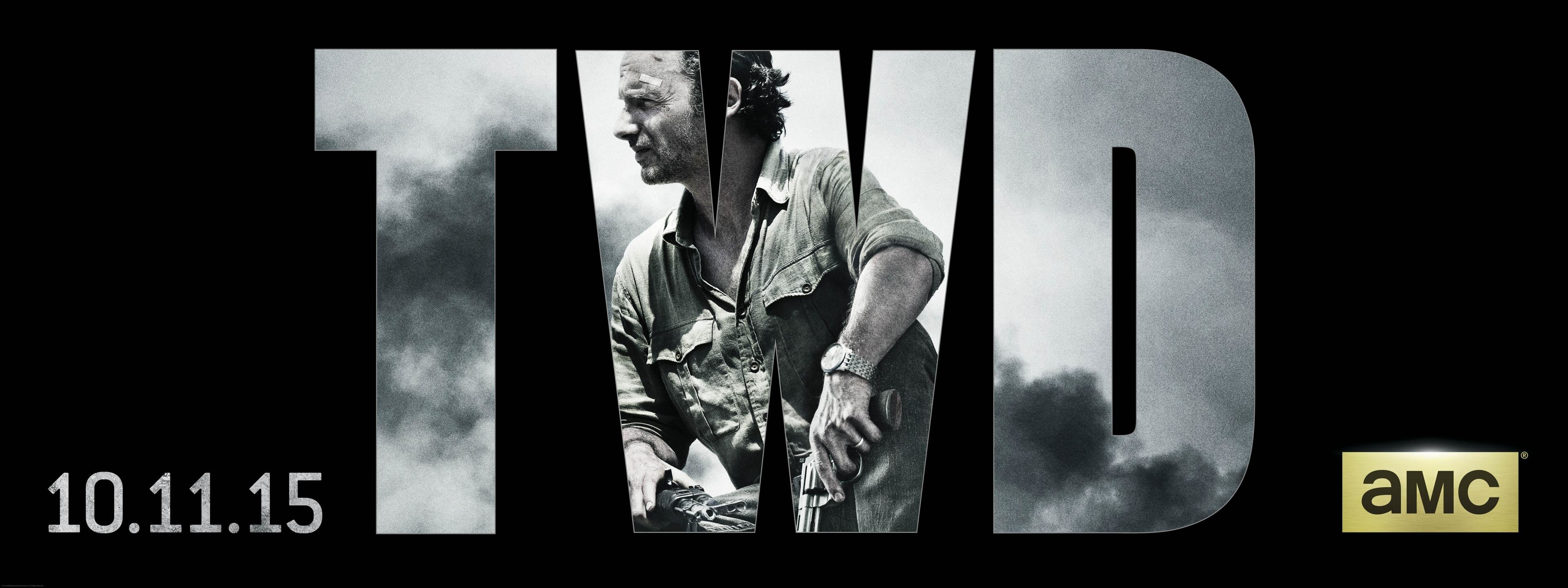 High resolution Rick Grimes dual monitor 3840x1440 wallpaper ID:190503 for desktop