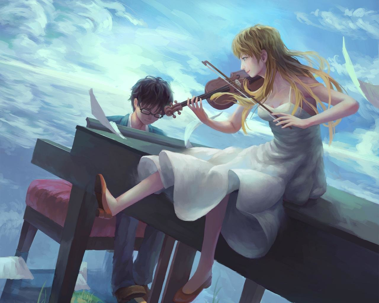 Your Lie In April Wallpapers New Wallpapers
