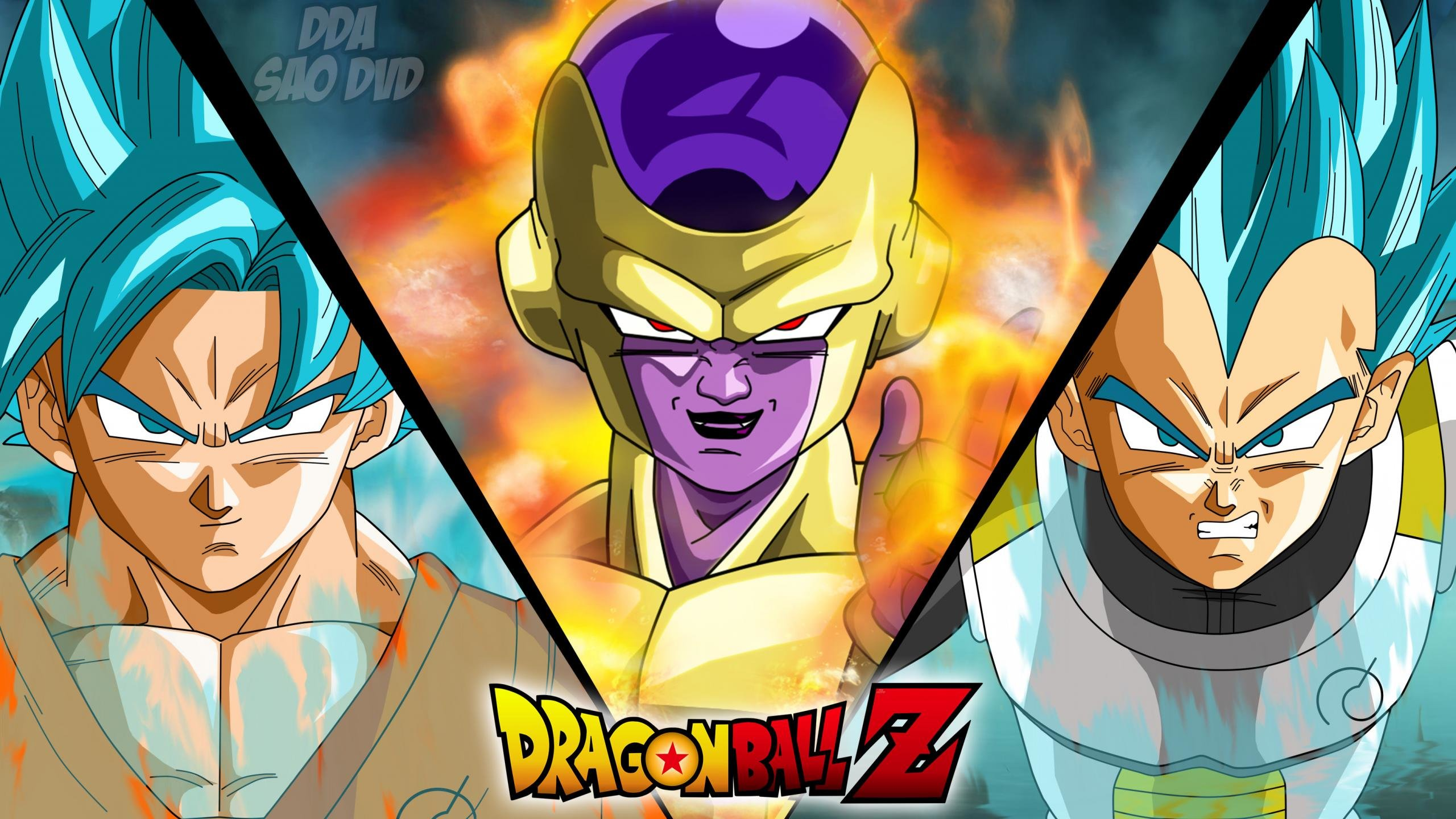 Download hd 2560x1440 Dragon Ball Z: Resurrection Of F PC wallpaper ID:391563 for free