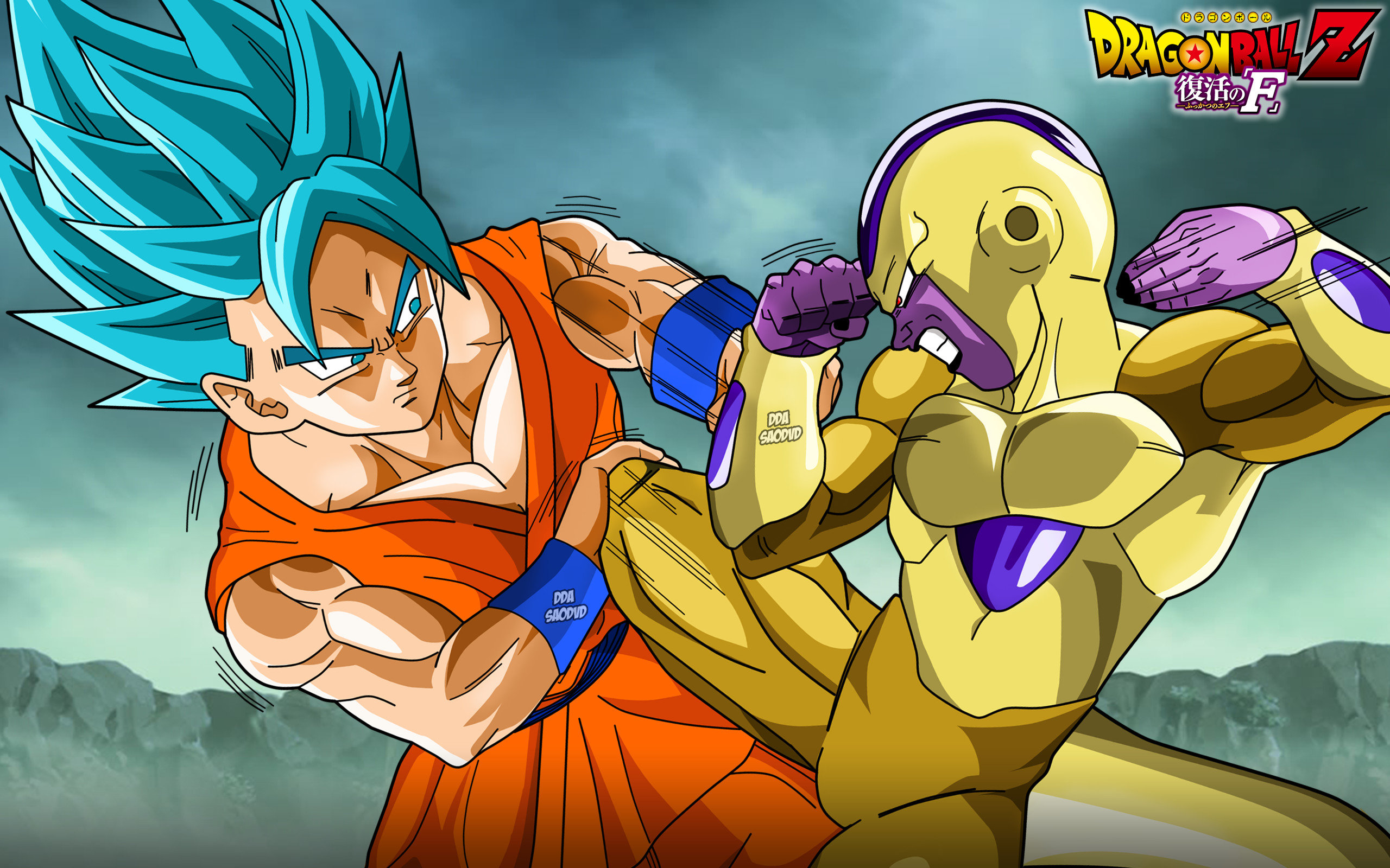 Download hd 2560x1600 Dragon Ball Z: Resurrection Of F PC wallpaper ID:391561 for free