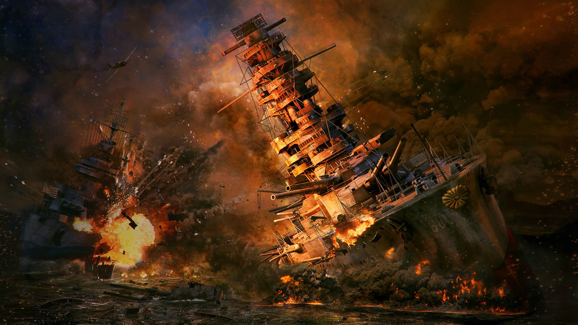 World Of Warships Wallpapers 1920x1080 Full Hd 1080p Desktop