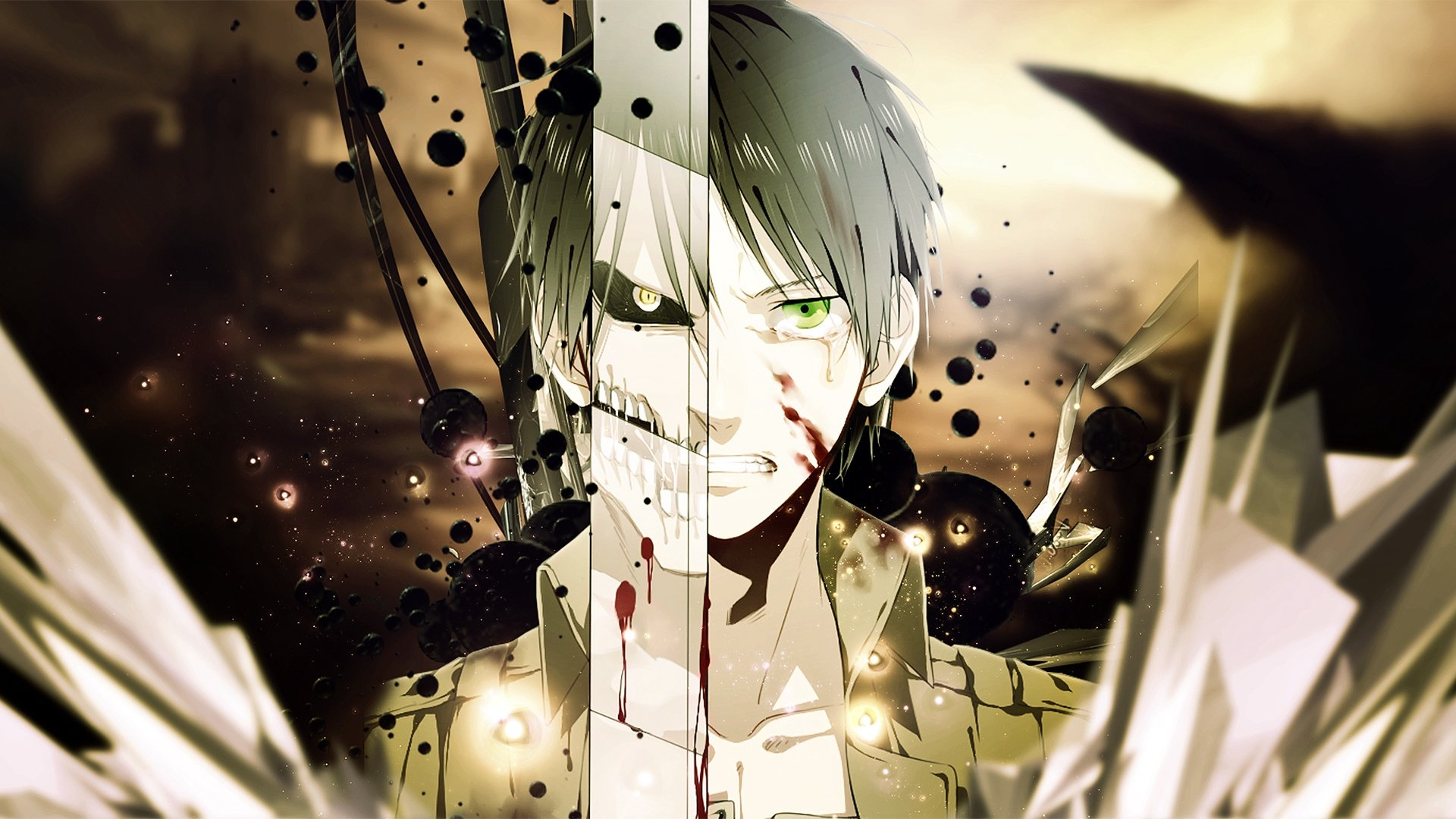Download Hd 1080p Eren Yeager Computer Background Id 206225