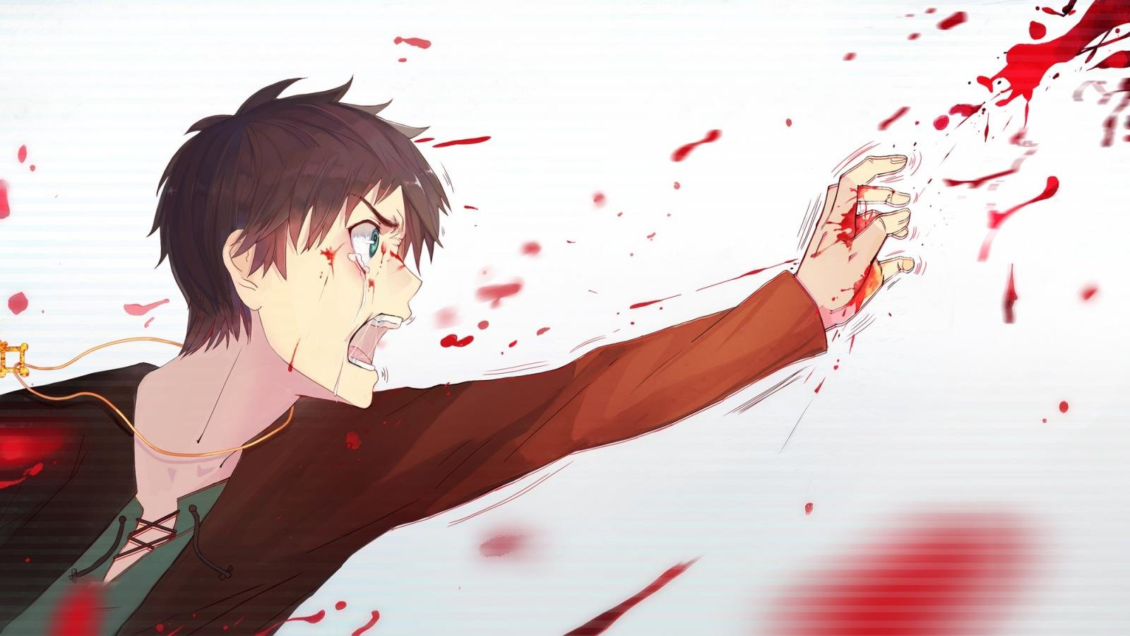 Free Eren Yeager high quality wallpaper ID:206186 for hd 1600x900 desktop