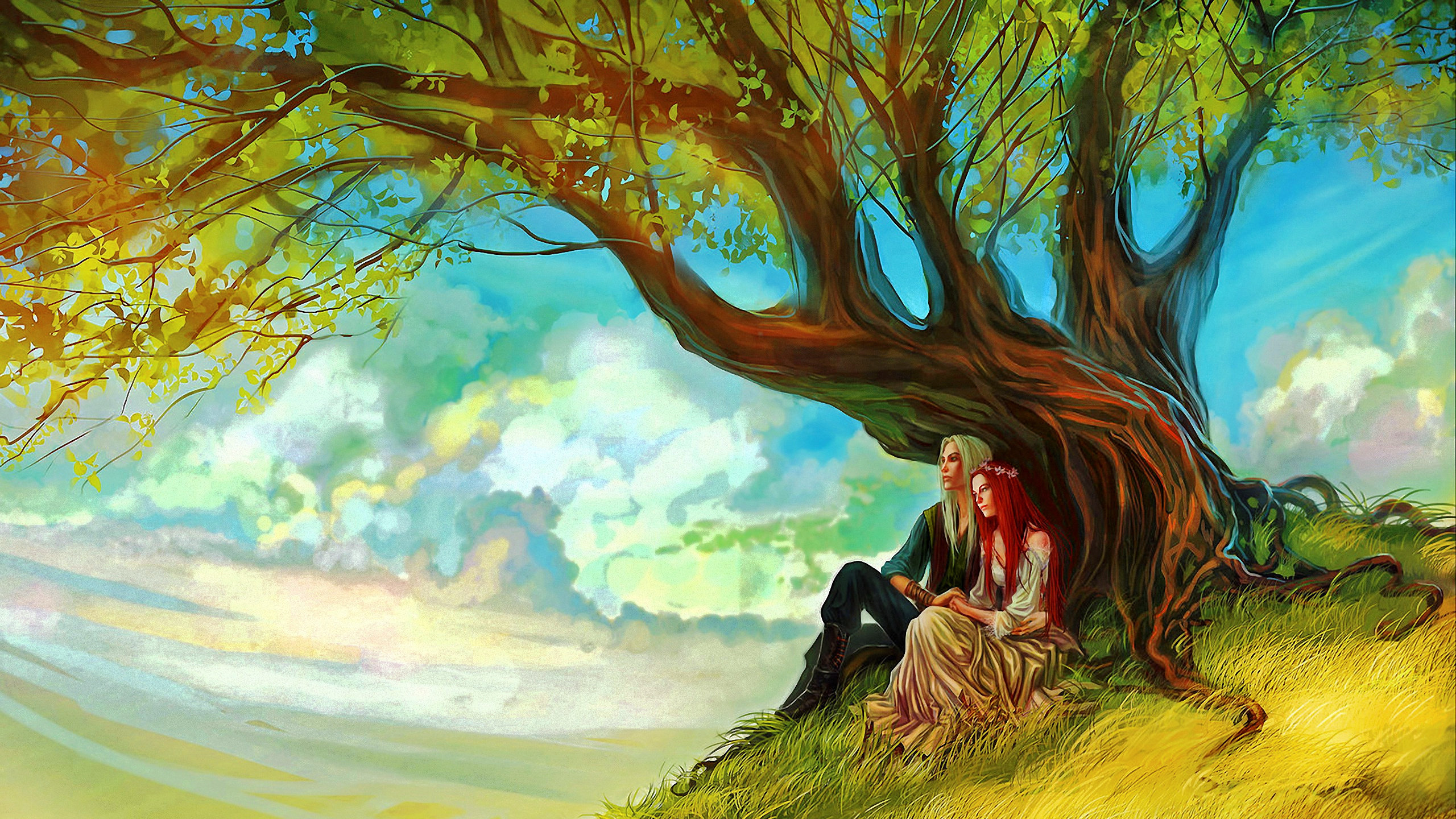 Best Wallpaper Love Fantasy - fantasy-love-couple-background-hd-2560x1440-305276  Collection_145149.jpg