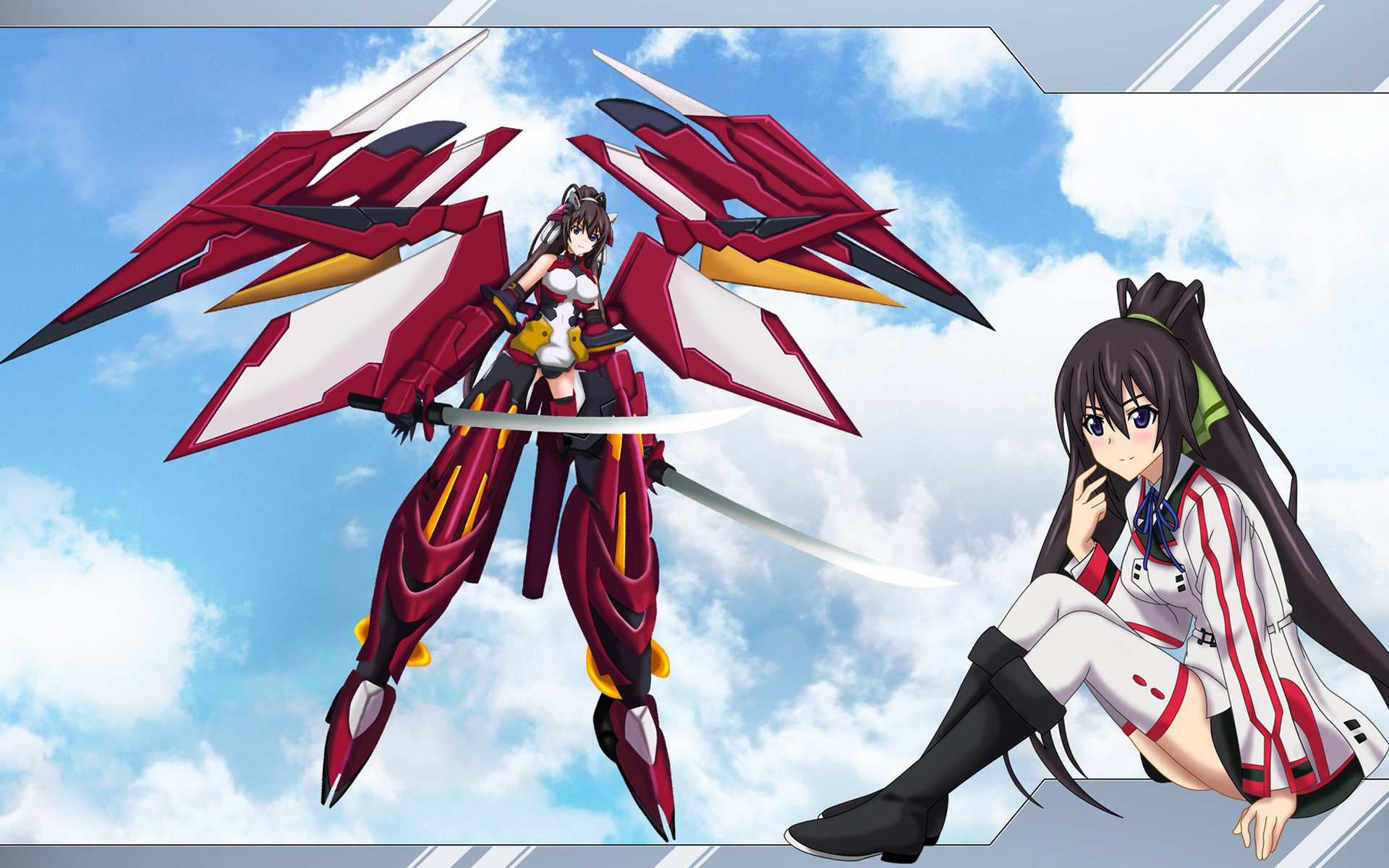 Download hd 1920x1200 Infinite Stratos computer wallpaper ID:163072 for free