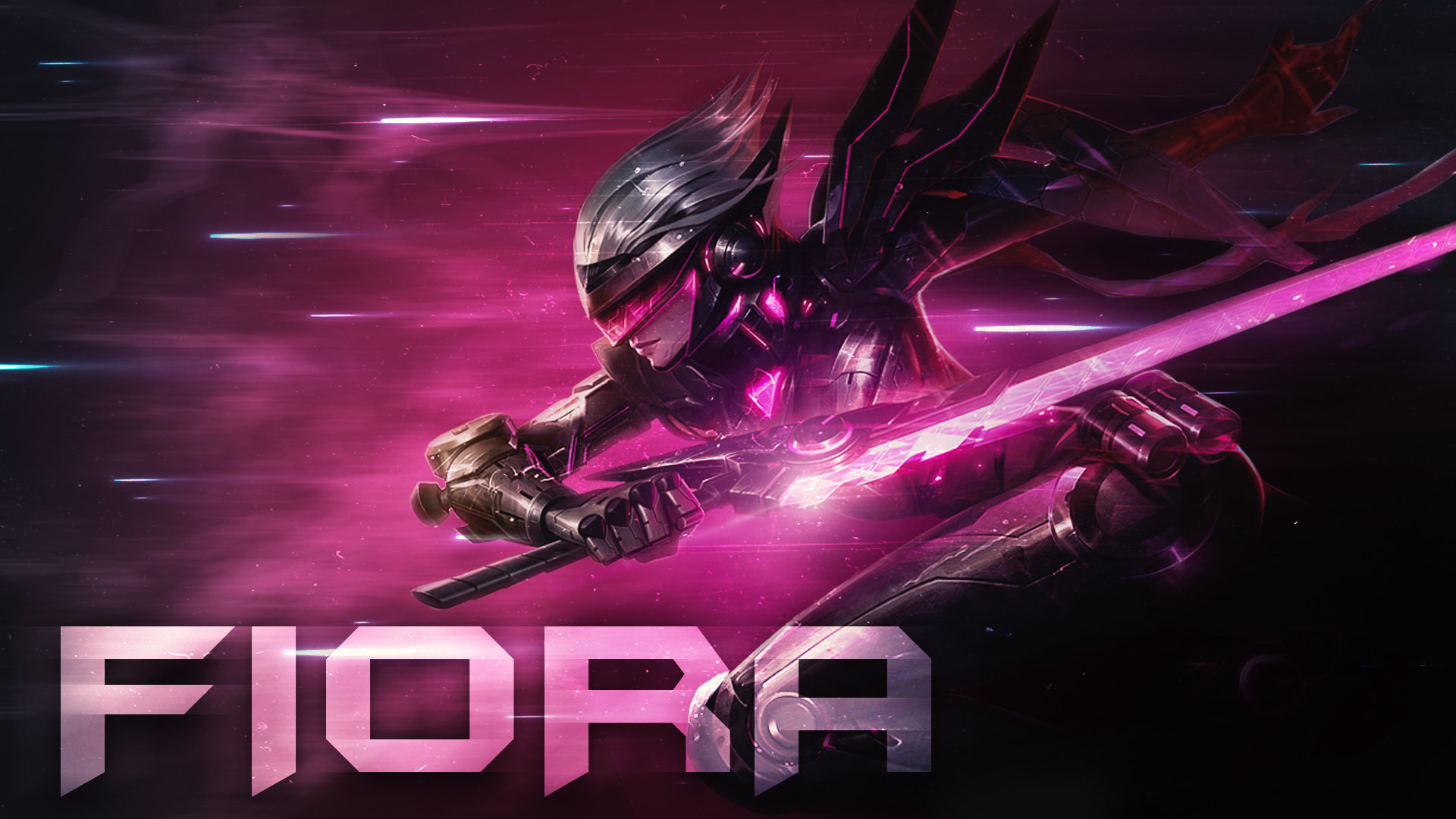 Fiora League Of Legends Wallpapers 1920x1080 Full Hd 1080p