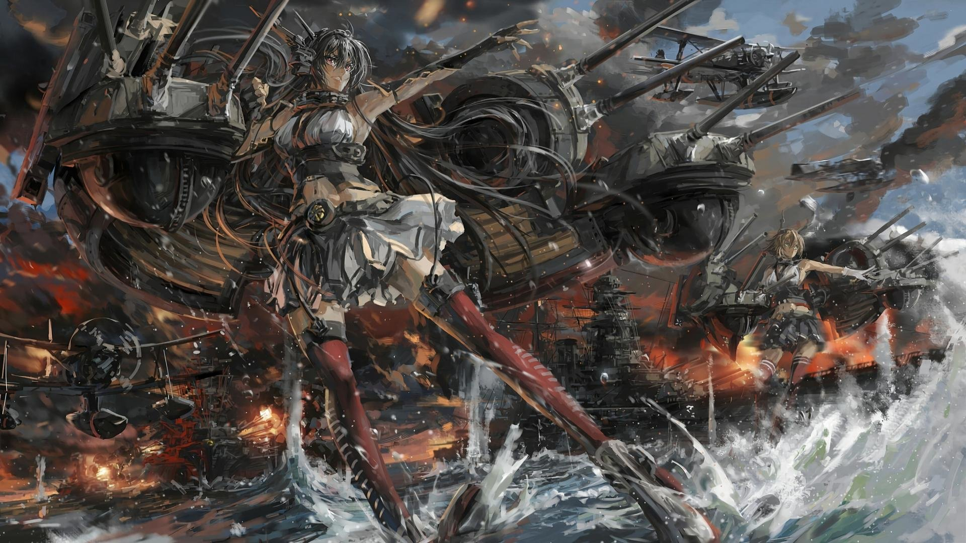 Free download Kantai Collection background ID:330845 full hd 1080p for desktop