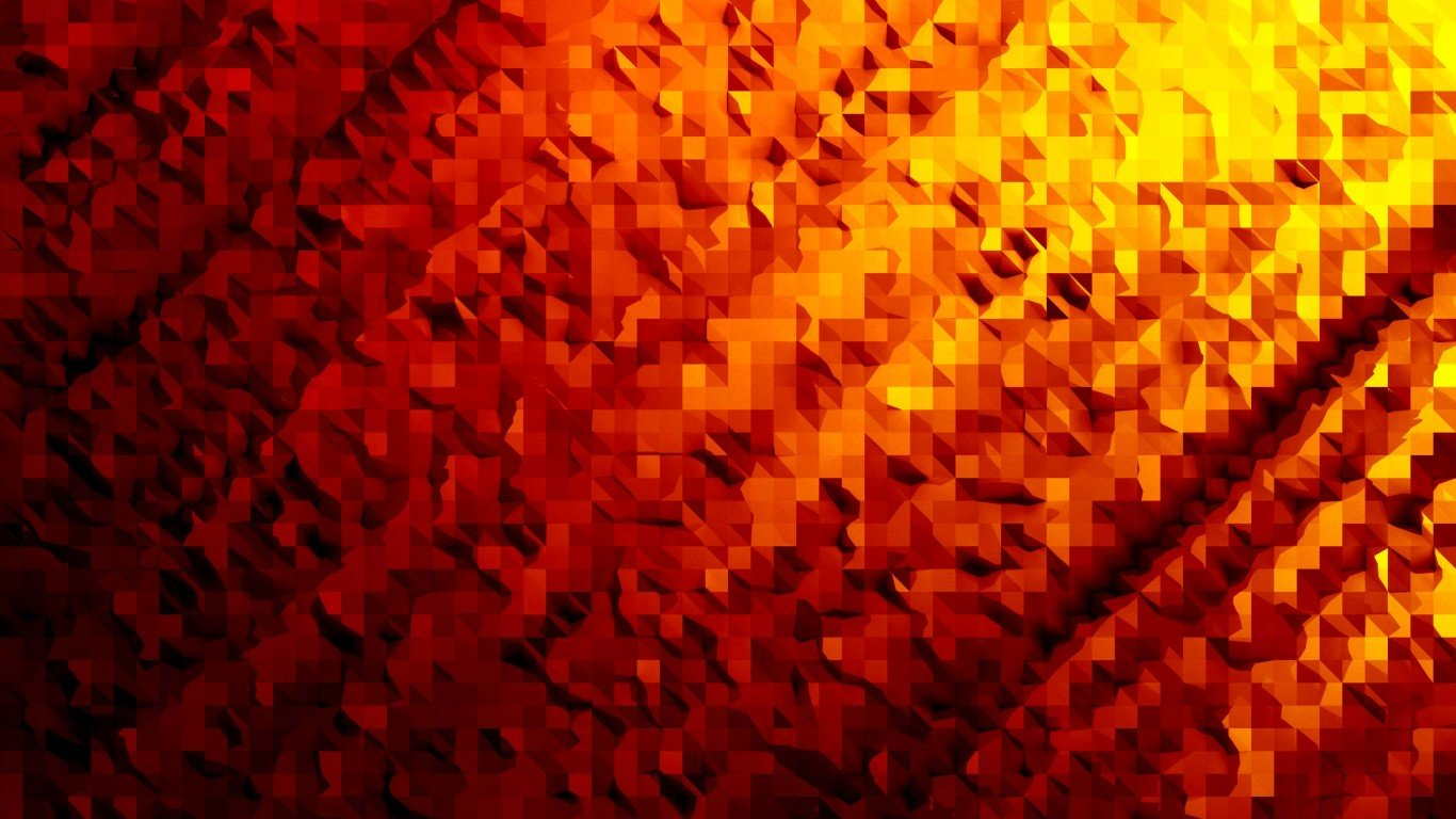 Best Orange Abstract wallpaper ID:141082 for High Resolution 1366x768 laptop PC