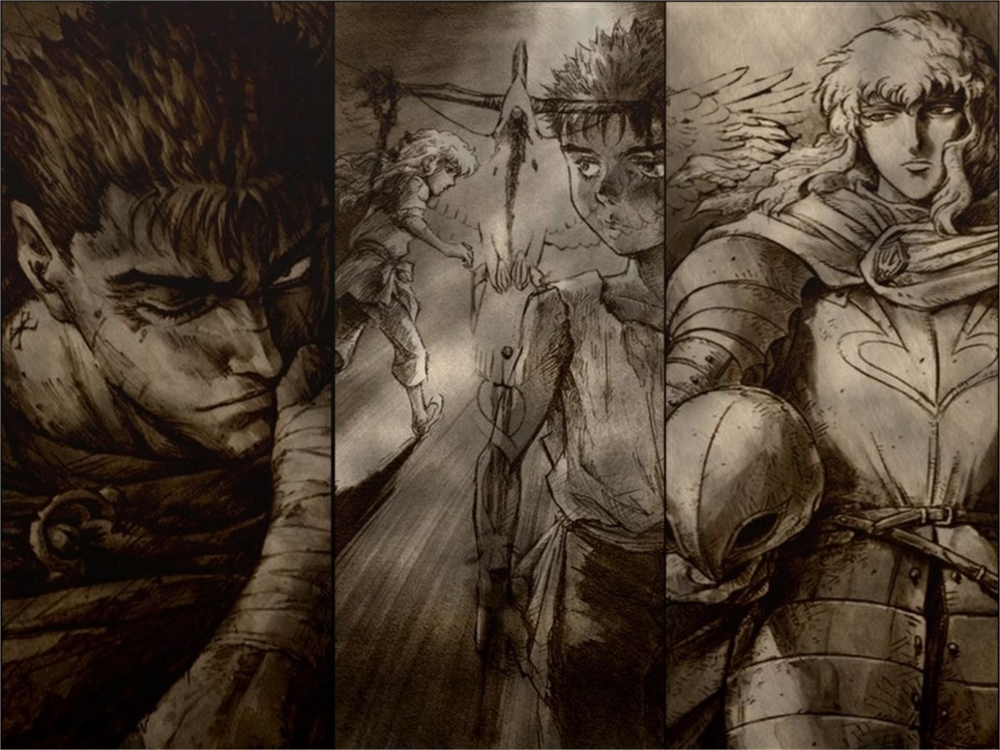Download hd 1400x1050 Berserk PC wallpaper ID:68028 for free