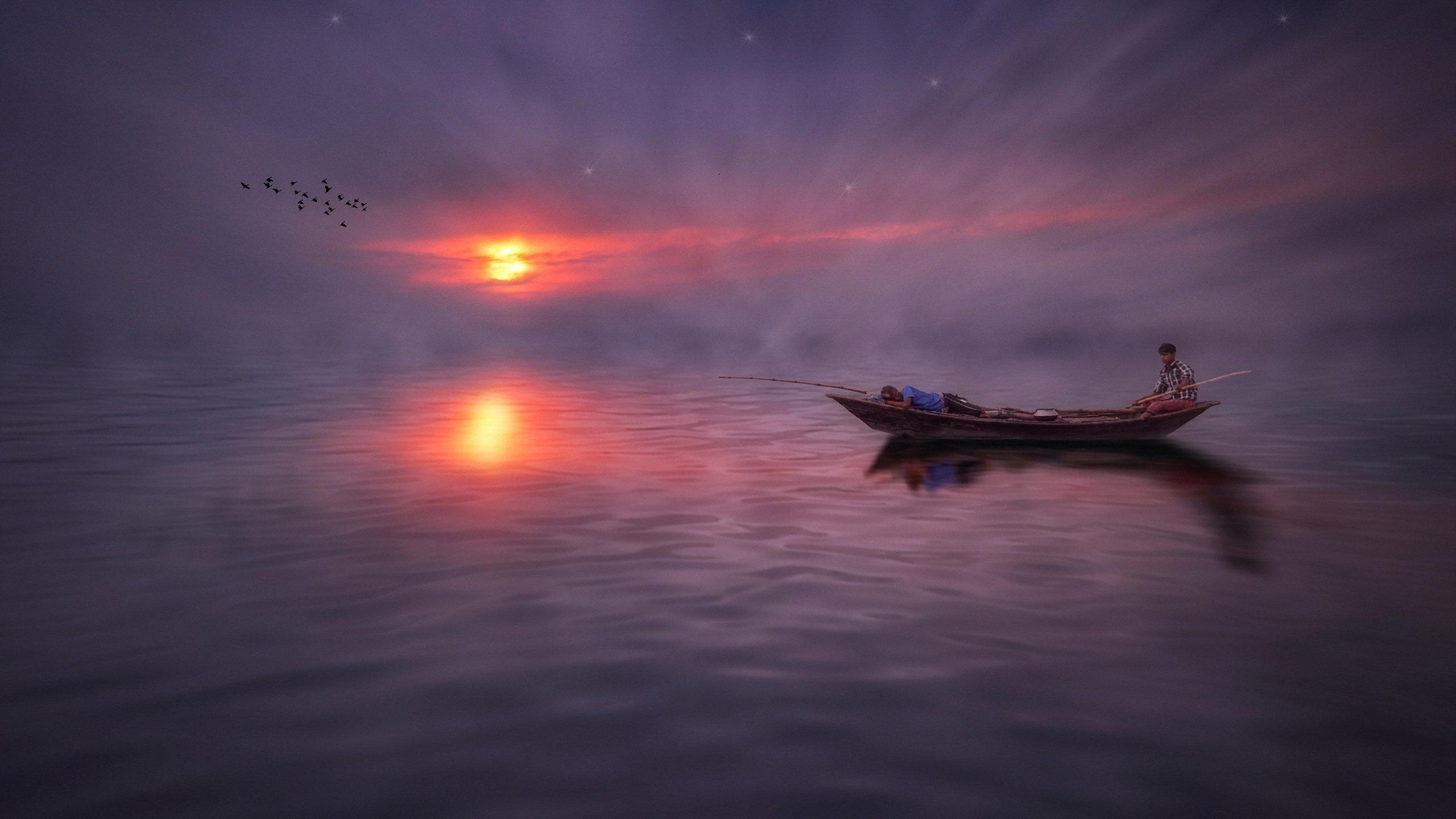 лодки ночь  № 3506471 без смс
