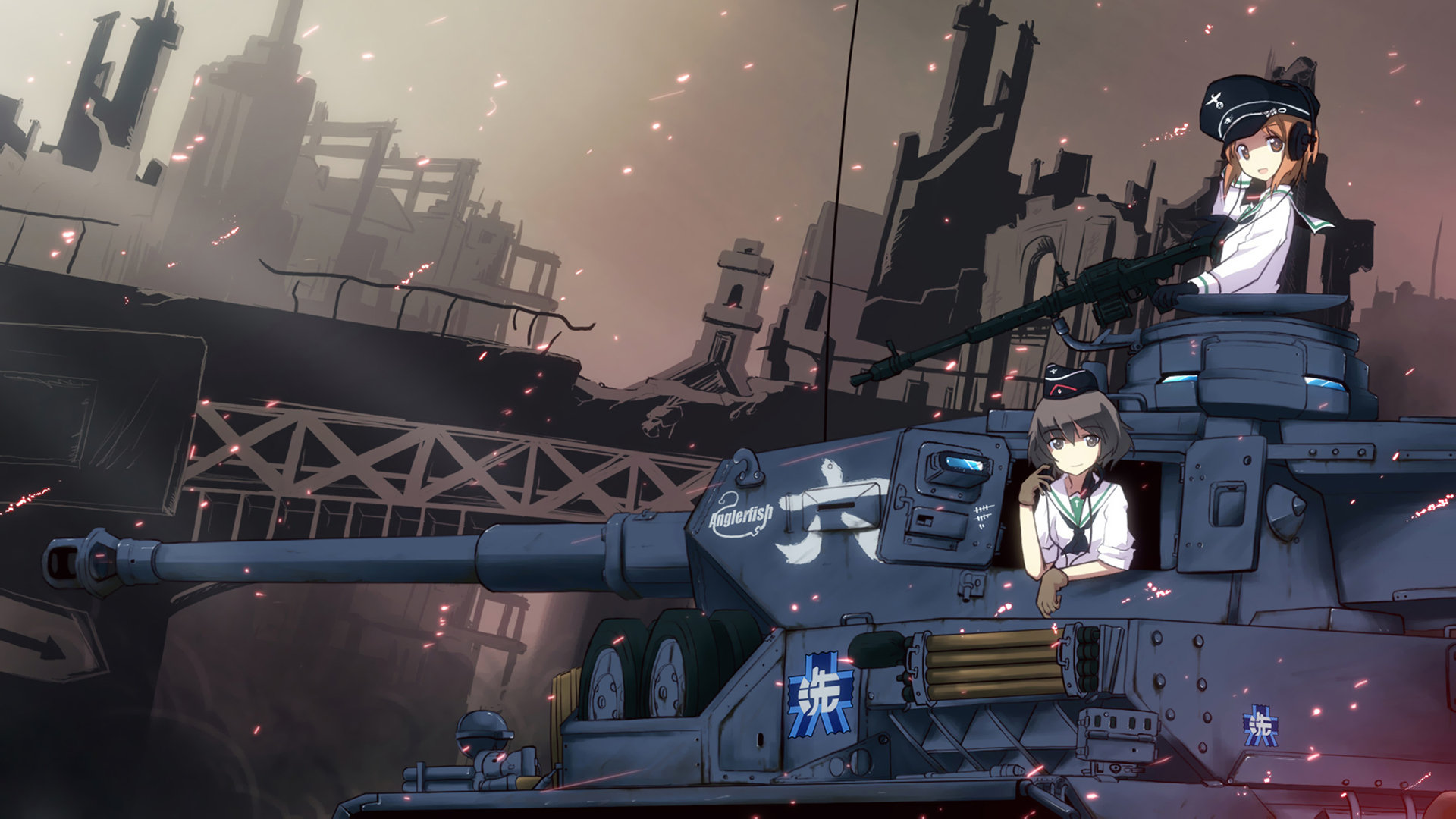 Girls Und Panzer Wallpapers 1920x1080 Full Hd 1080p Desktop
