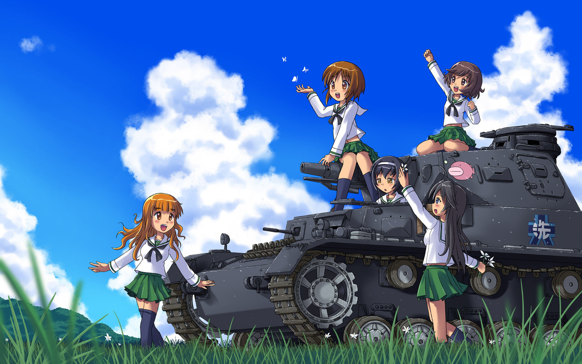 Free Girls Und Panzer high quality wallpaper ID:208362 for hd 1920x1200 computer