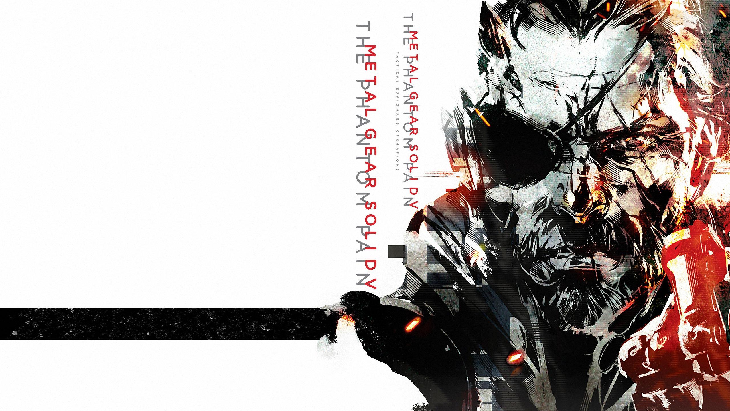 Metal Gear Solid 5 V The Phantom Pain Mgsv 5 Wallpapers Hd