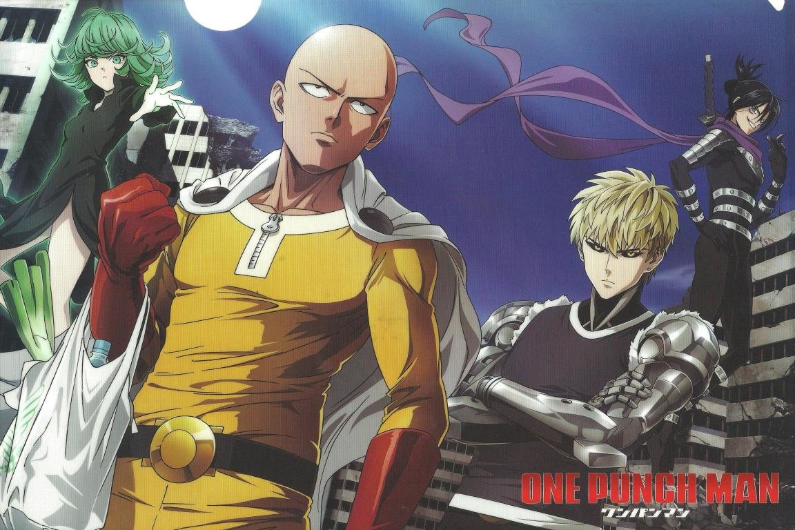 Download hd 1152x768 One-Punch Man PC wallpaper ID:345194 for free