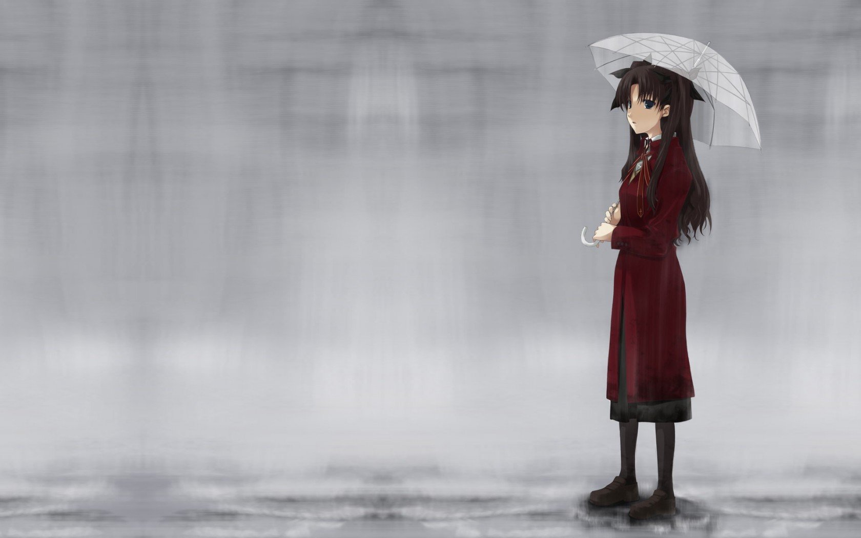 Free Rin Tohsaka high quality wallpaper ID:468249 for hd 1680x1050 computer