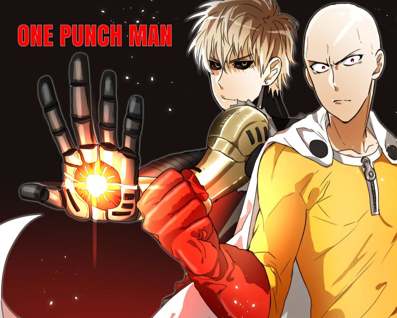 Free download One-Punch Man background ID:345327 hd 1280x1024 for PC