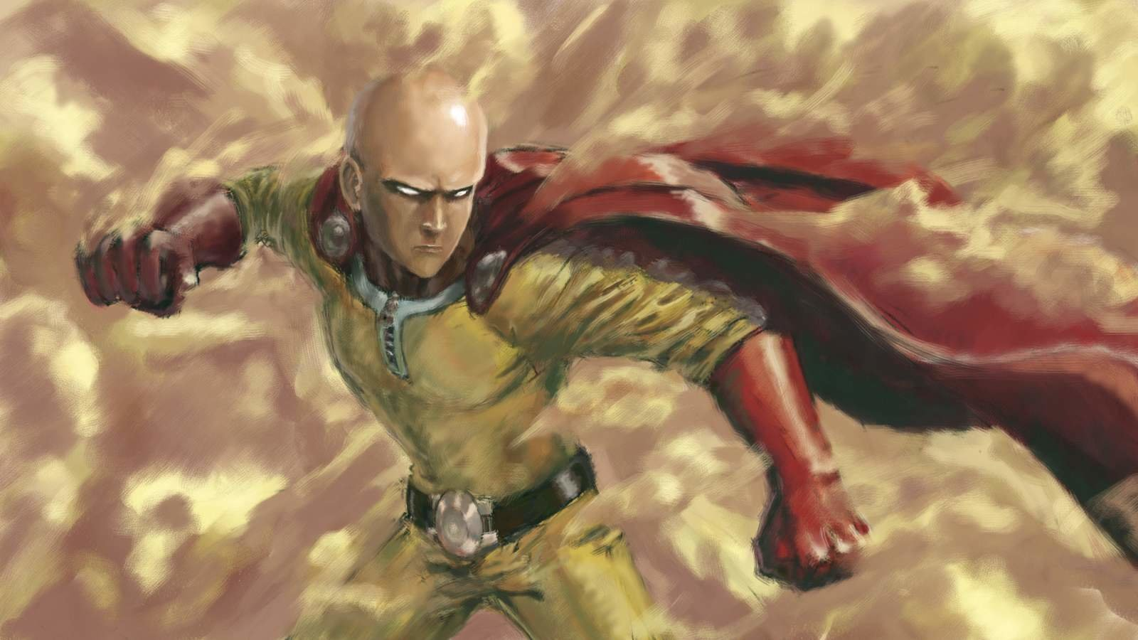 High resolution Saitama (One-Punch Man) hd 1600x900 wallpaper ID:345299 for computer