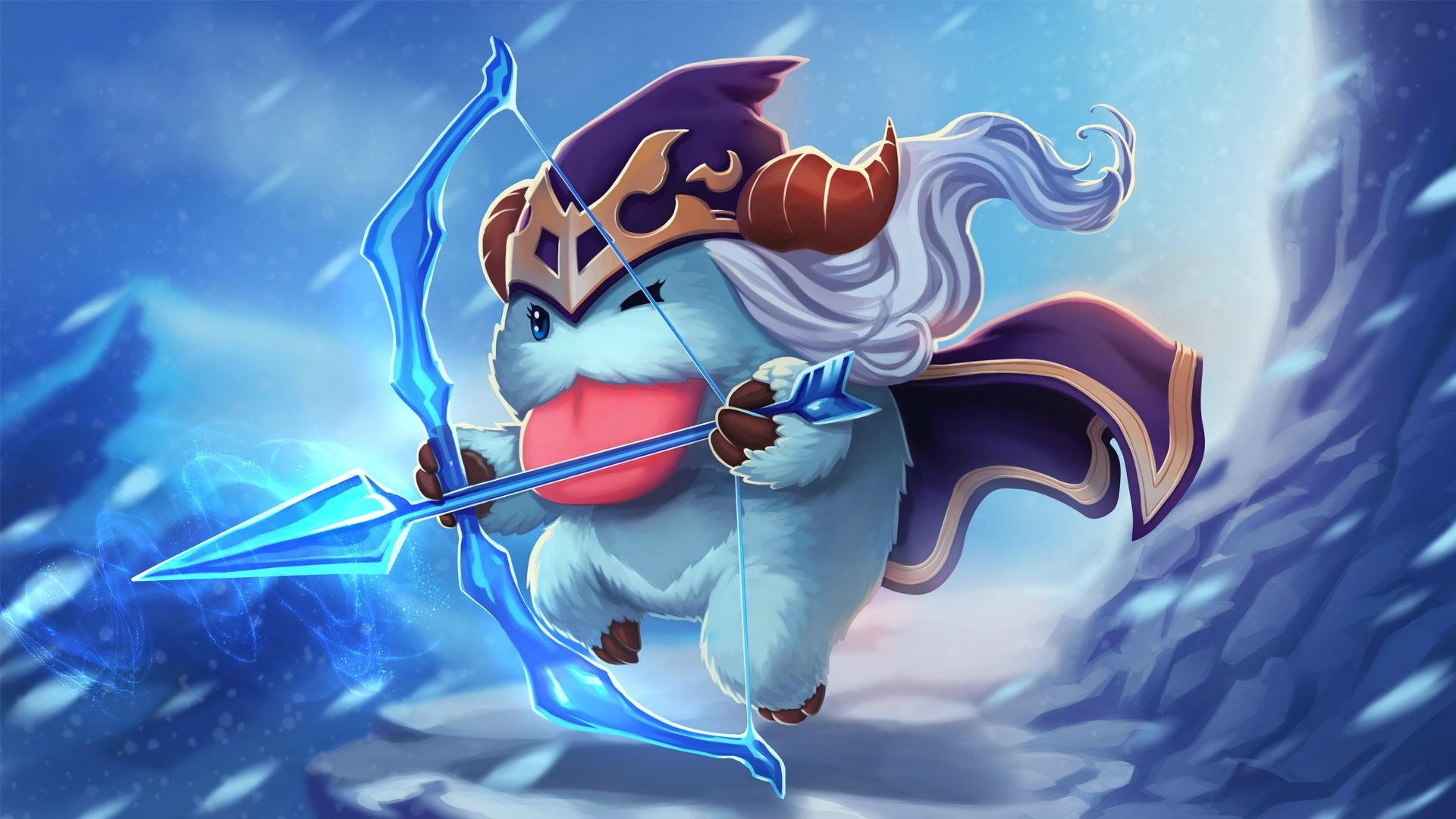 Ashe League Of Legends Wallpapers 1920x1080 Full Hd 1080p