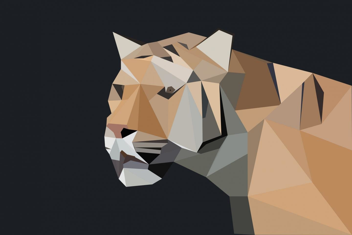 Download hd 1440x960 Low Poly PC wallpaper ID:305751 for free