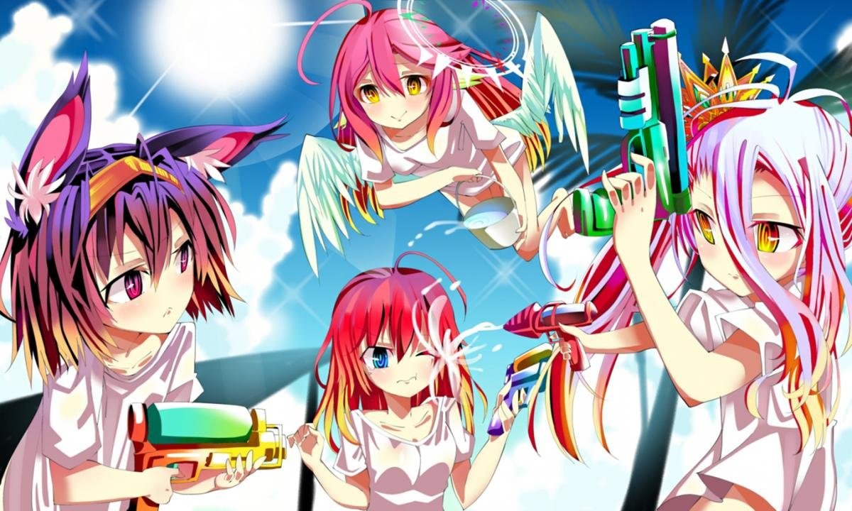 Best No Game No Life wallpaper ID:102393 for High Resolution hd 1200x720 computer