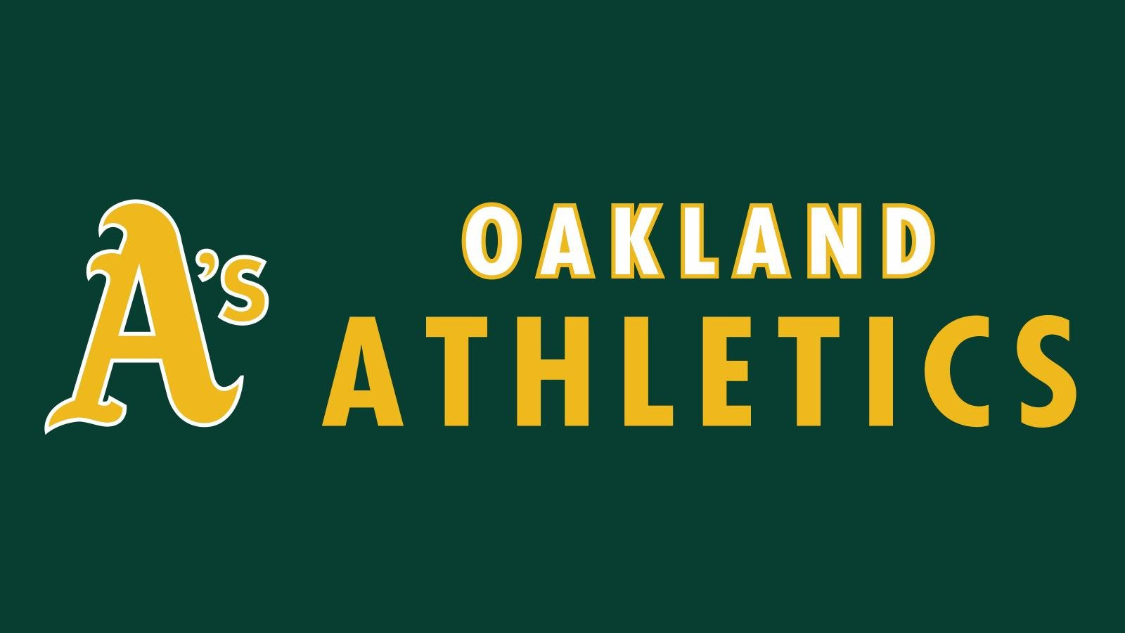 Download hd 1600x900 Oakland Athletics desktop background ID:310463 for free
