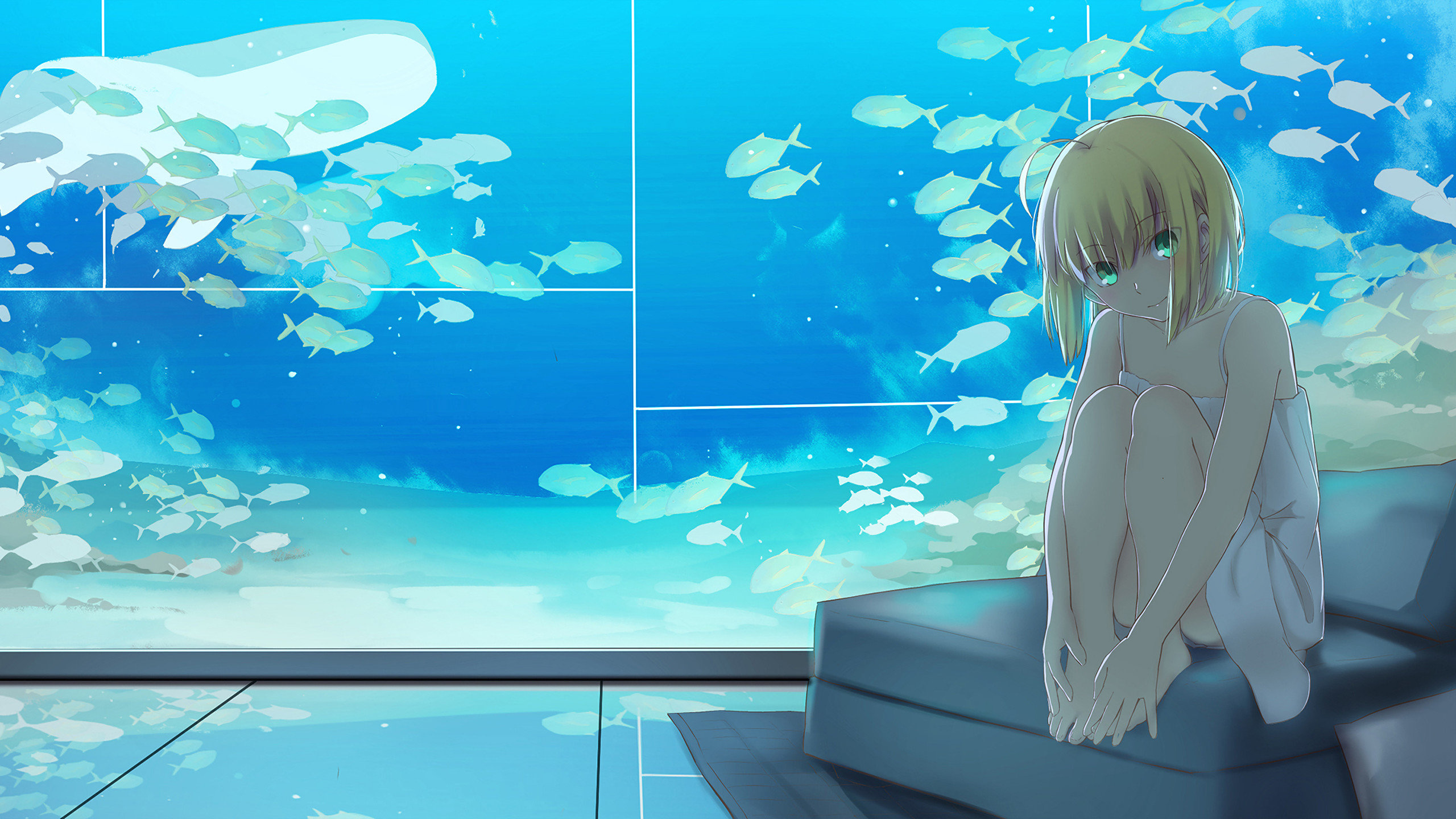 Free download Saber (Fate Series) wallpaper ID:468901 hd 2560x1440 for desktop