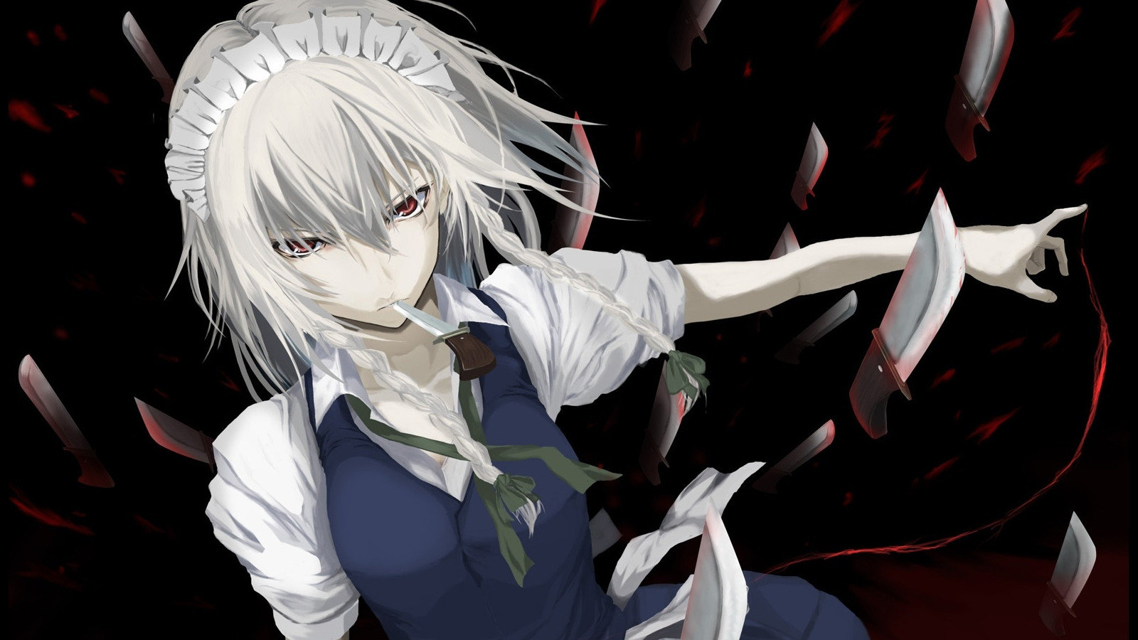 Free Sakuya Izayoi high quality background ID:220084 for hd 1600x900 PC