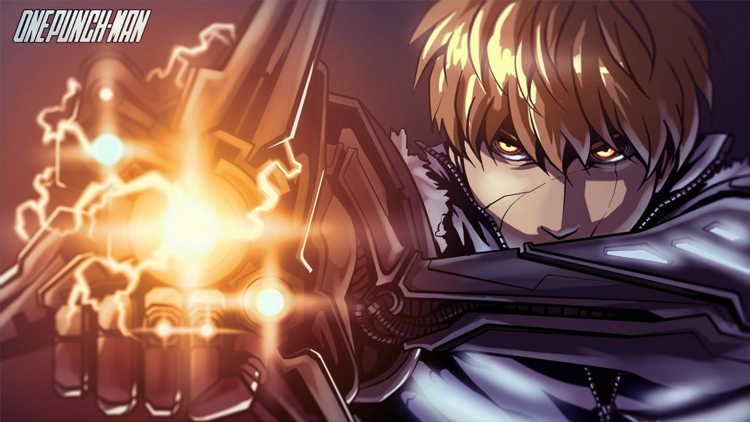 High resolution Genos (One-Punch Man) hd 1536x864 wallpaper ID:345416 for desktop