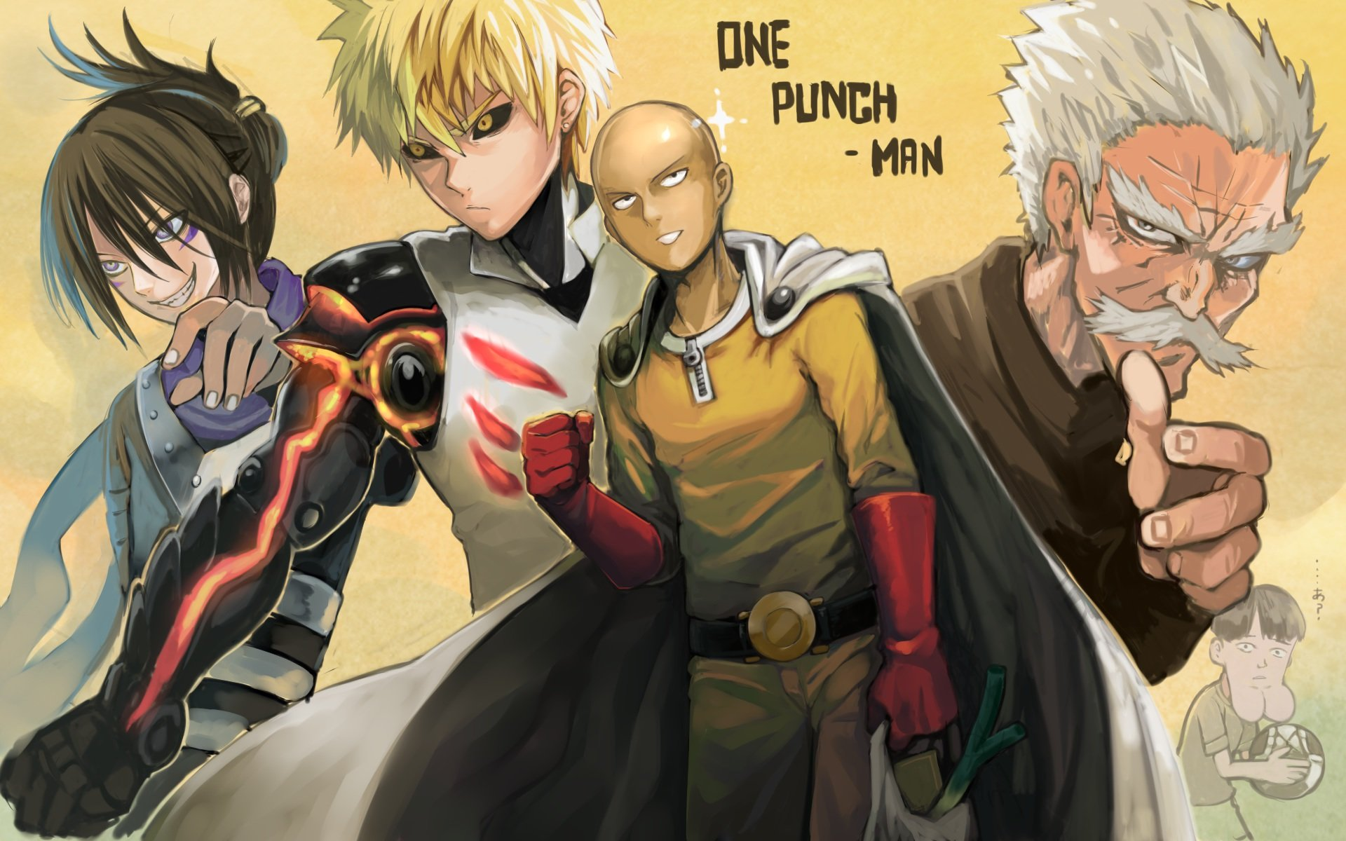 Free One-Punch Man high quality background ID:345303 for hd 1920x1200 PC