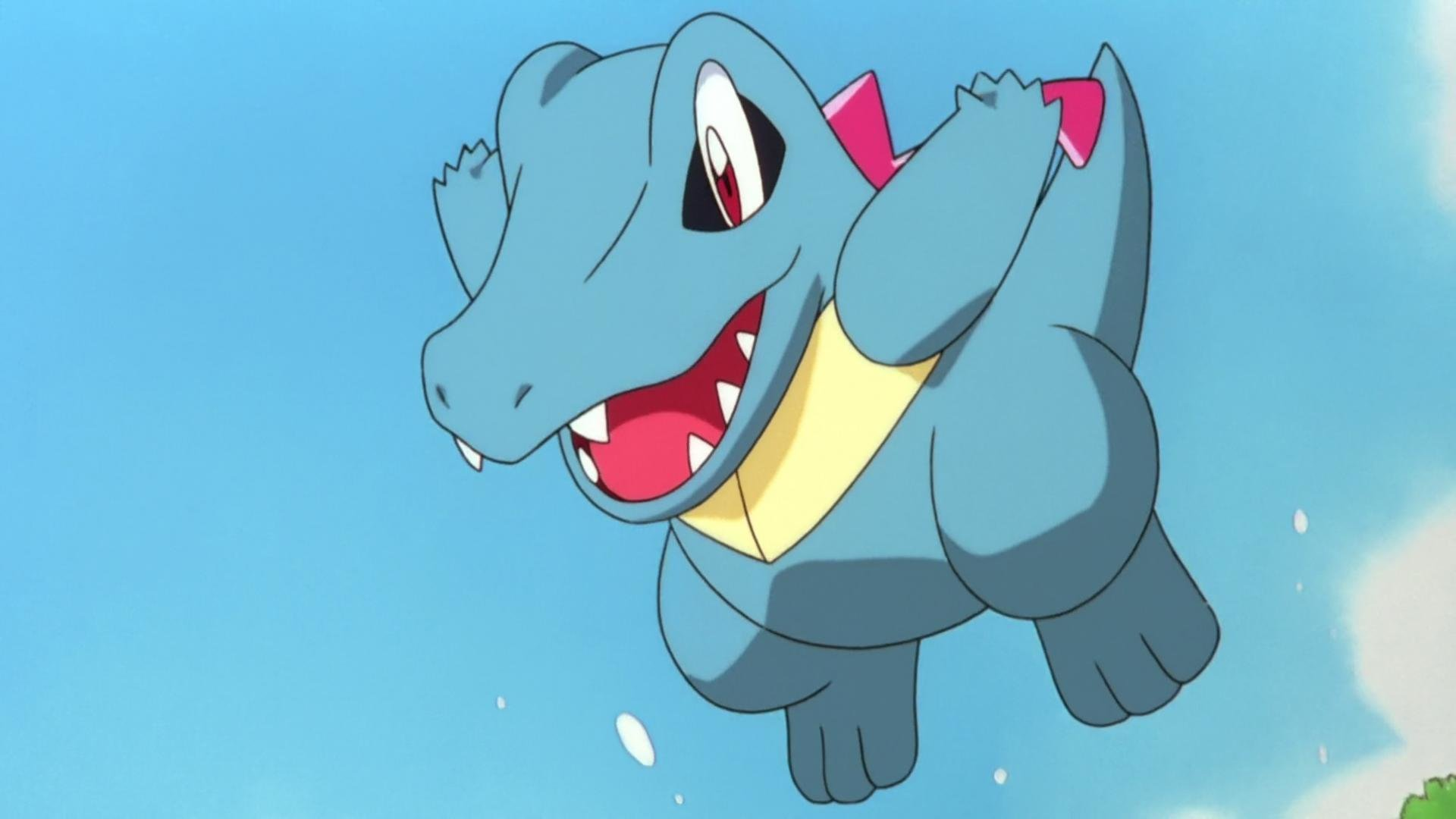 High resolution Totodile (Pokemon) hd 1920x1080 wallpaper ID:278862 for computer