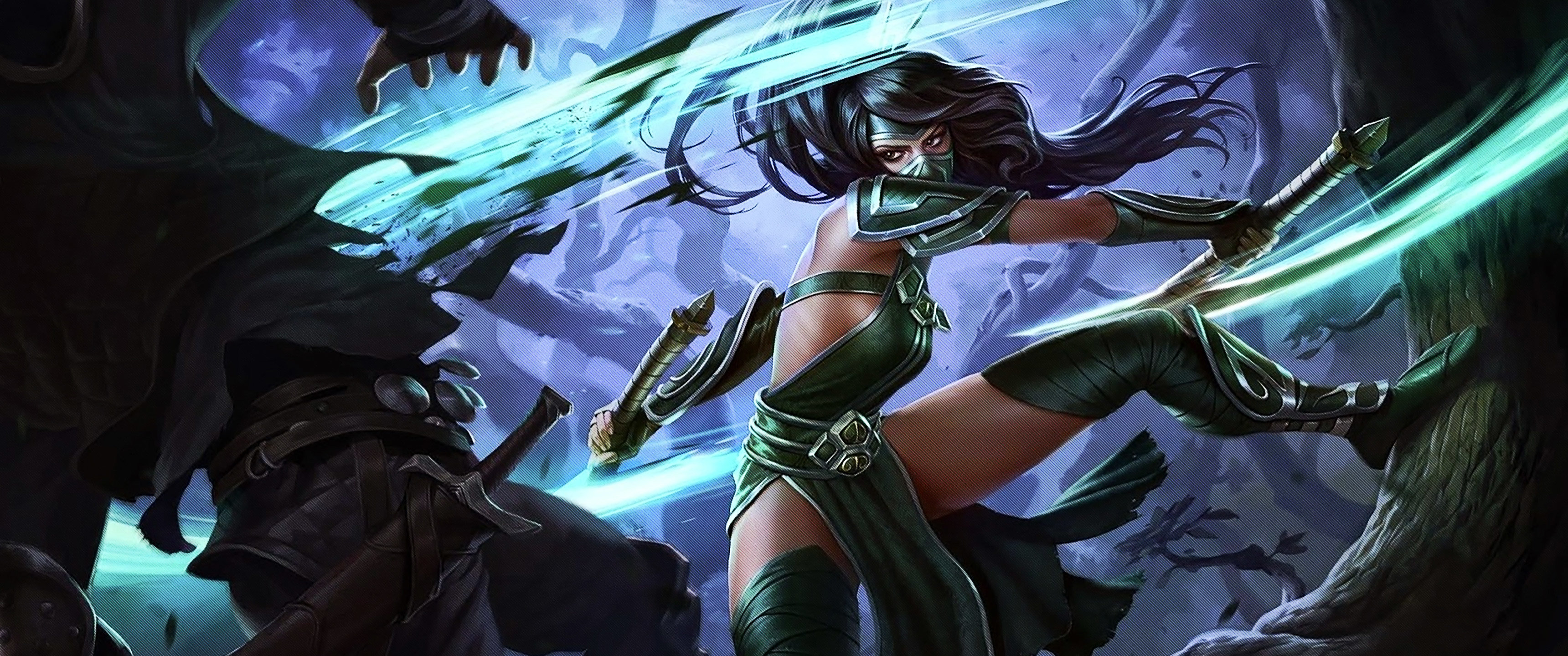 Free download Akali (League Of Legends) background ID:171527 hd 3440x1440 for desktop