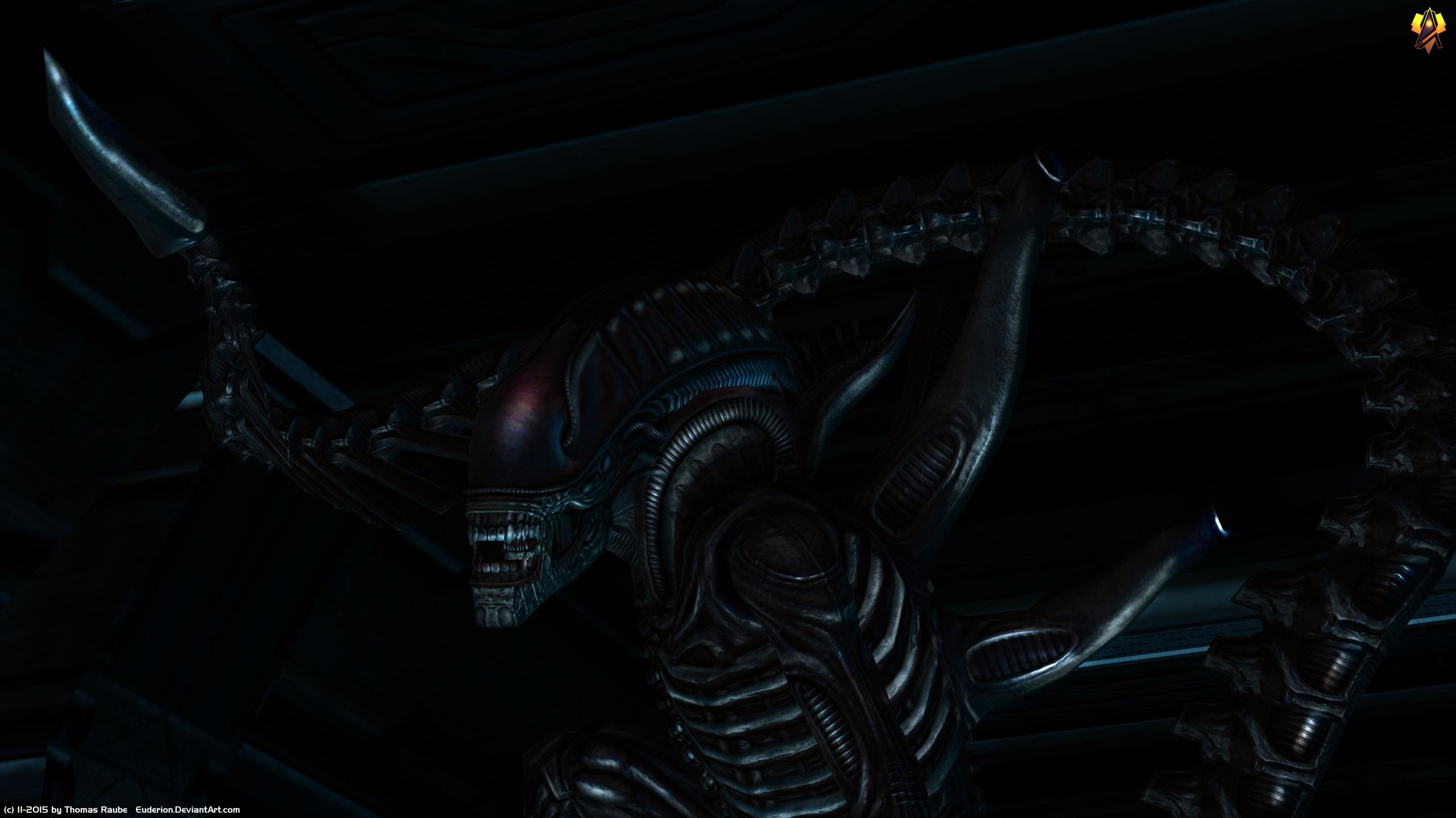 Download hd 2560x1440 Alien Movie computer wallpaper ID:25382 for free