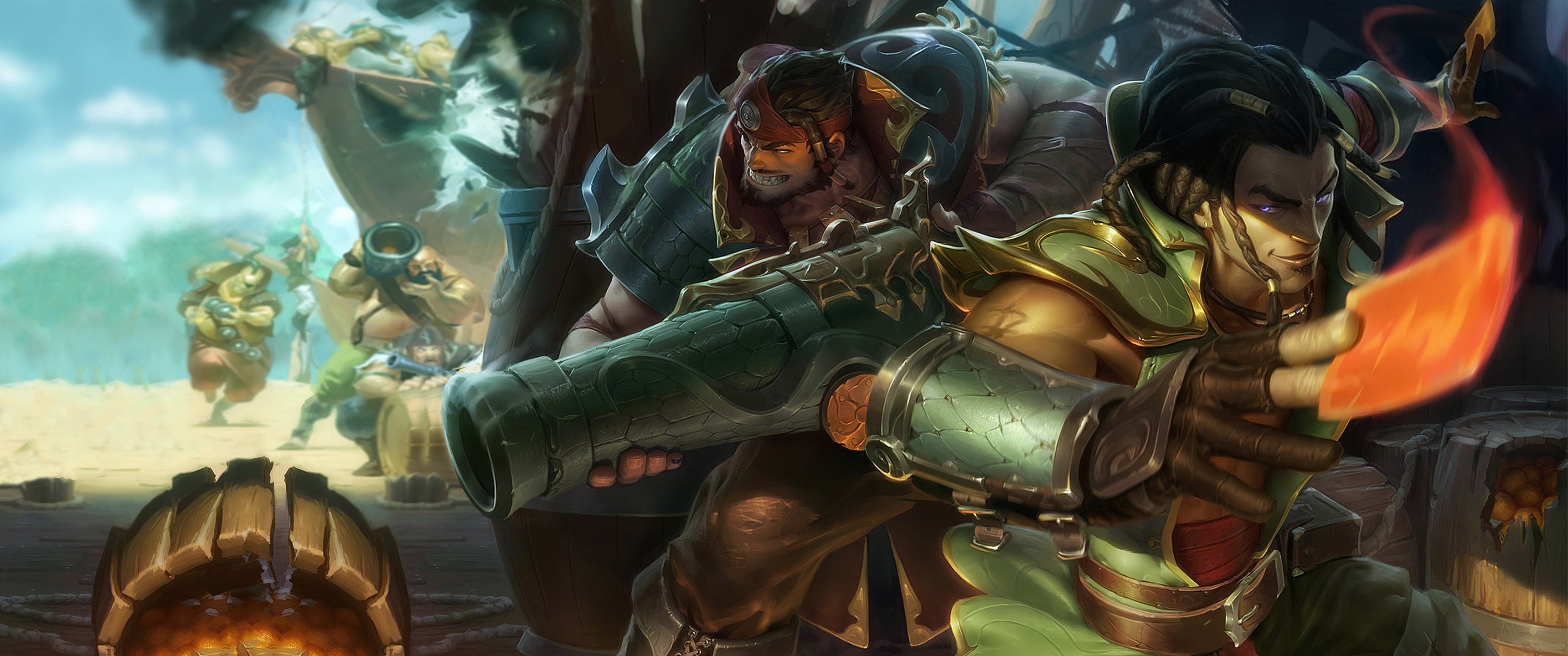 Awesome League Of Legends (LOL) free background ID:172254 for hd 3440x1440 desktop