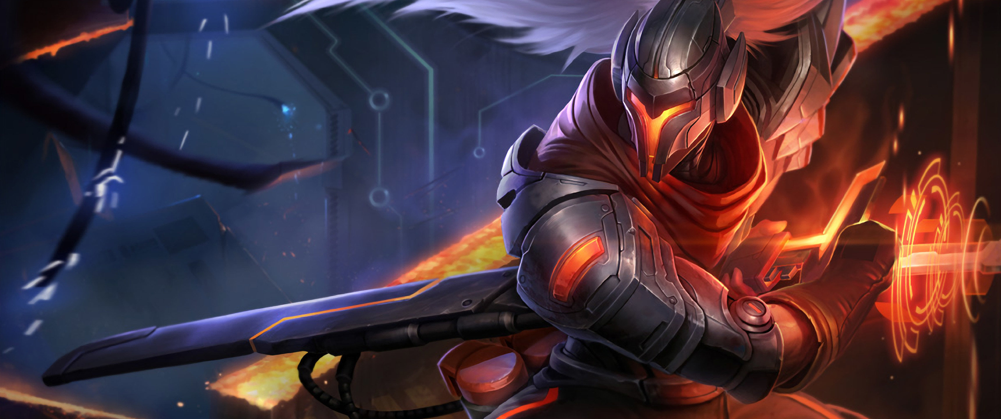 Download hd 3440x1440 Yasuo (League Of Legends) computer wallpaper ID:171144 for free