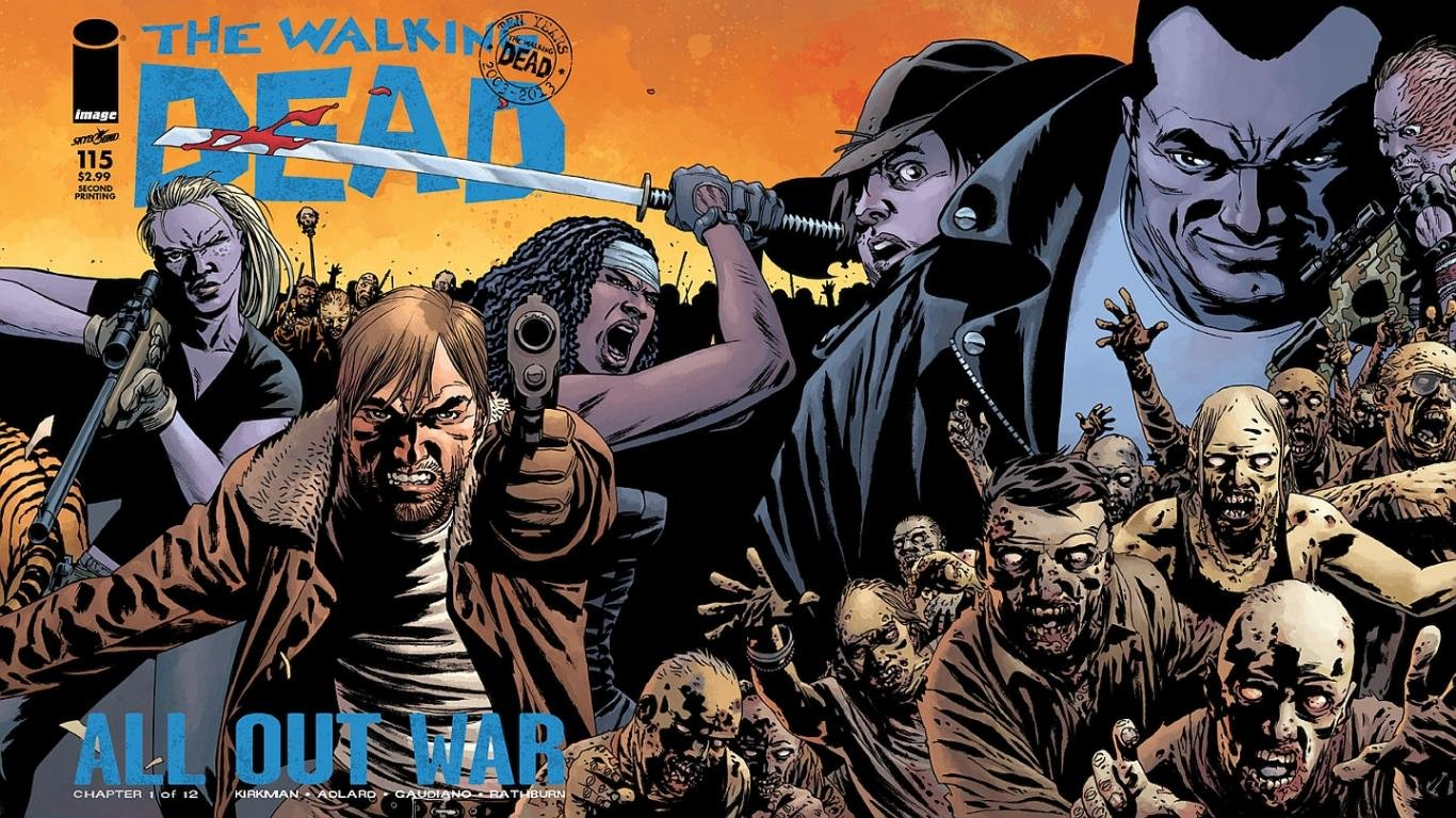 High resolution Walking Dead Comics laptop background ID:84255 for computer