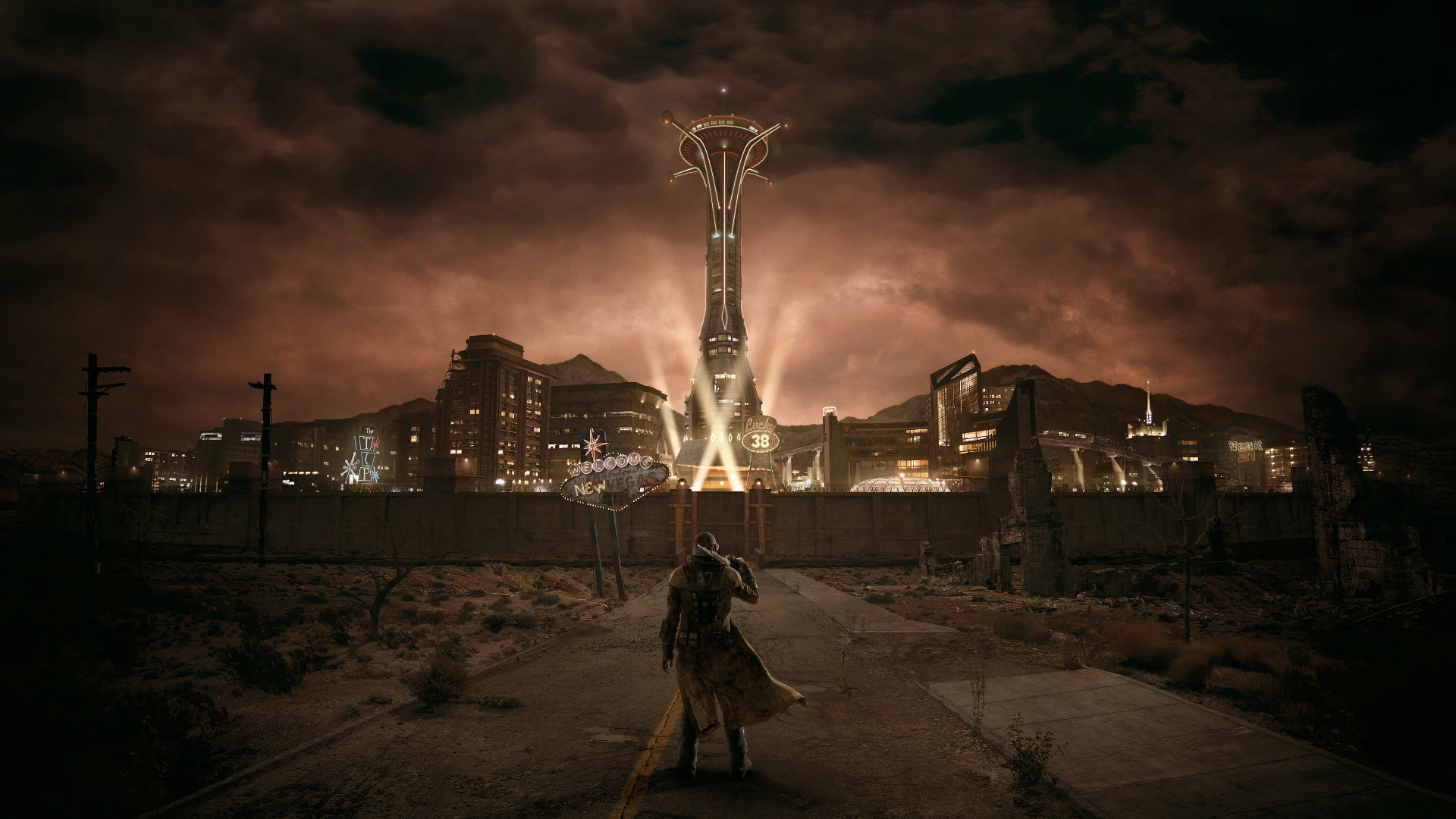 High Resolution Fallout New Vegas Hd 1080p Wallpaper ID208643 For Computer