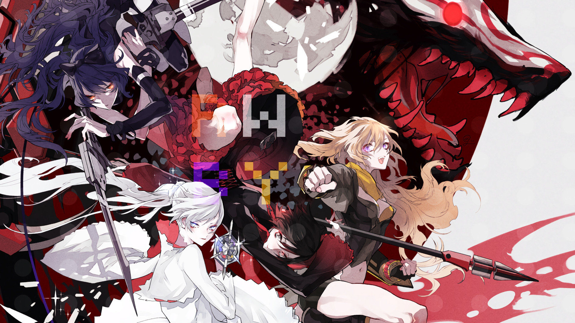 Download hd 1920x1080 RWBY PC wallpaper ID:437646 for free