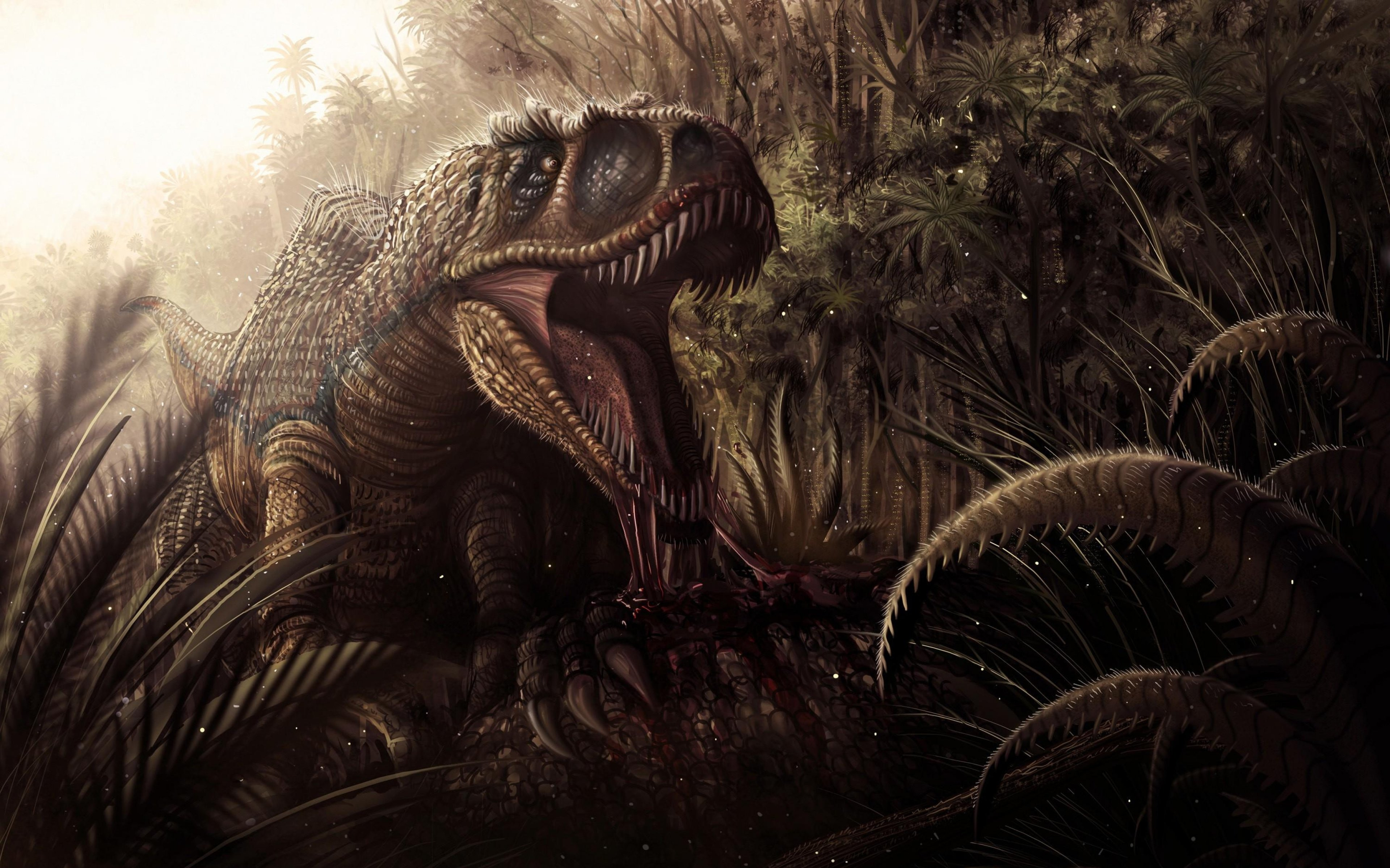 Best Tyrannosaurus Rex wallpaper ID:73870 for High Resolution hd 3840x2400 computer