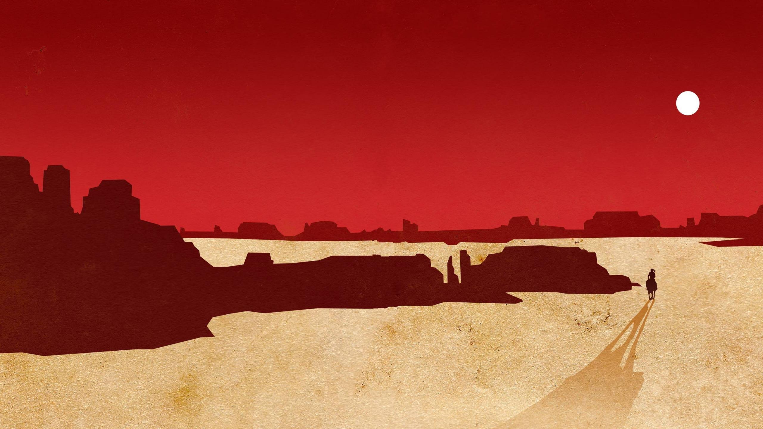 Red Dead Redemption Wallpapers 2560x1440 Desktop Backgrounds