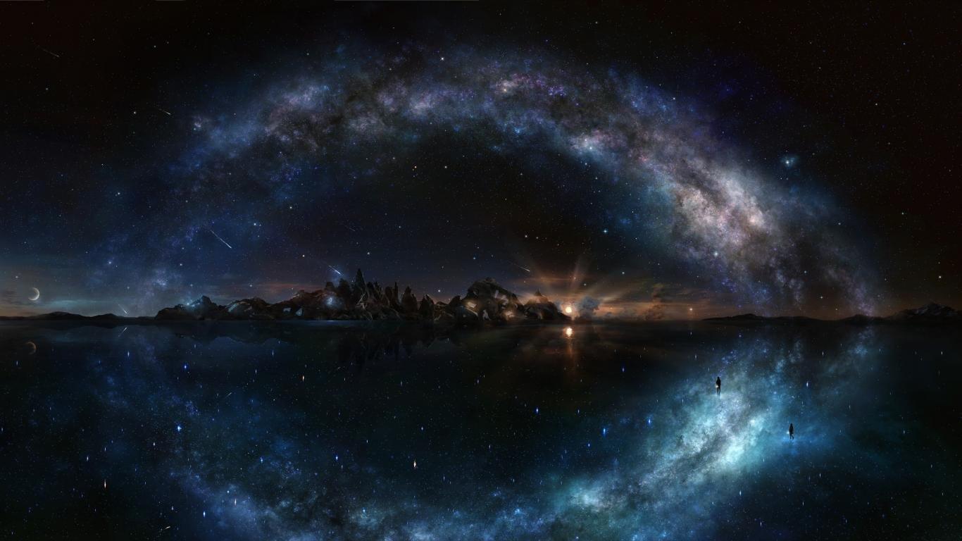 Most Inspiring Wallpaper Night Laptop - starry-night-sky-wallpaper-1366x768-laptop-216056  Pictures-368451.jpg