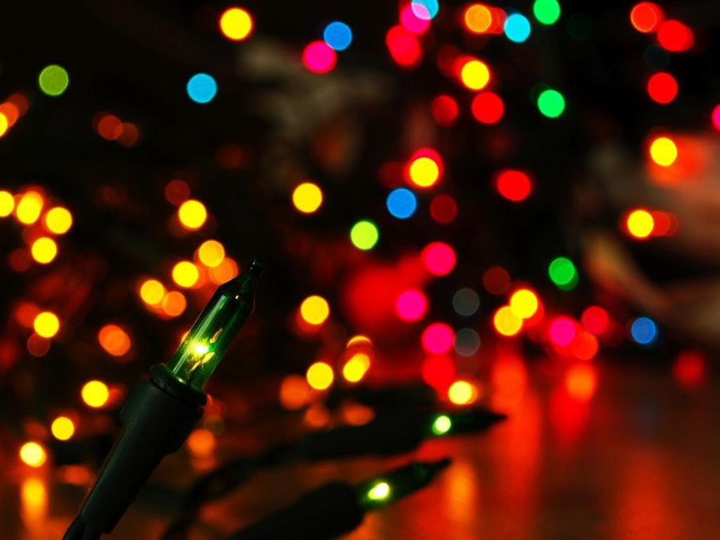 Christmas lights wallpaper backgrounds