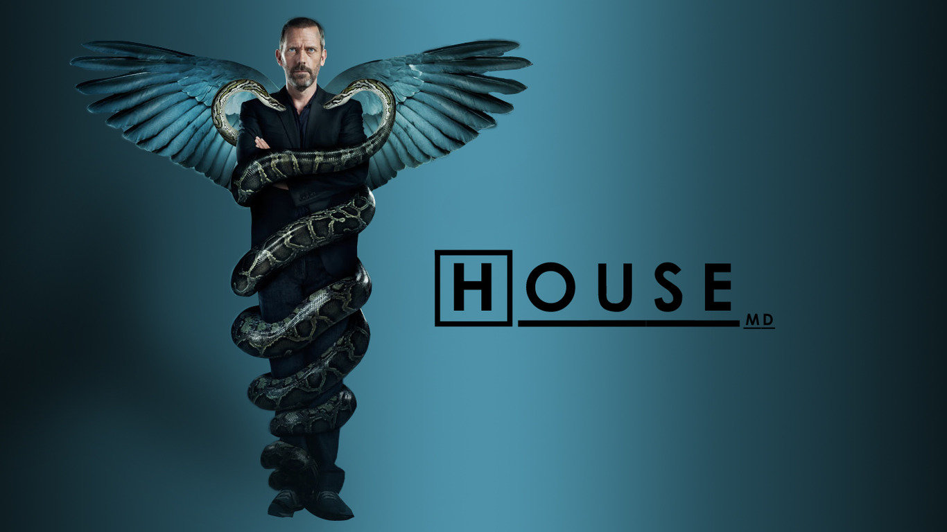 High resolution Dr. House 1366x768 laptop background ID:156773 for computer