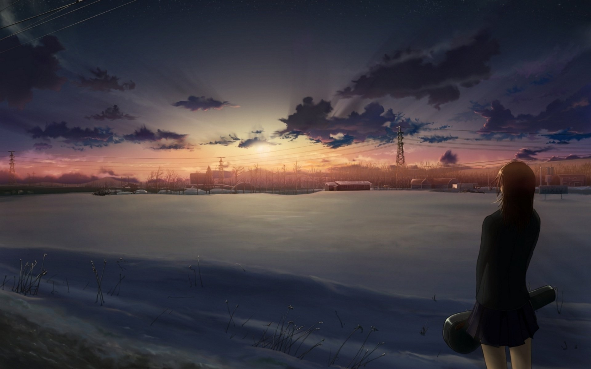 Free download 5 (cm) Centimeters Per Second wallpaper ID:90046 hd 1920x1200 for computer