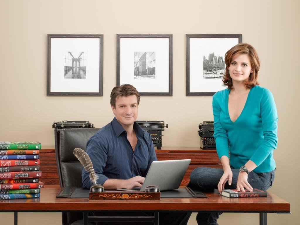 Free download Castle TV Show wallpaper ID:101013 hd 1024x768 for PC
