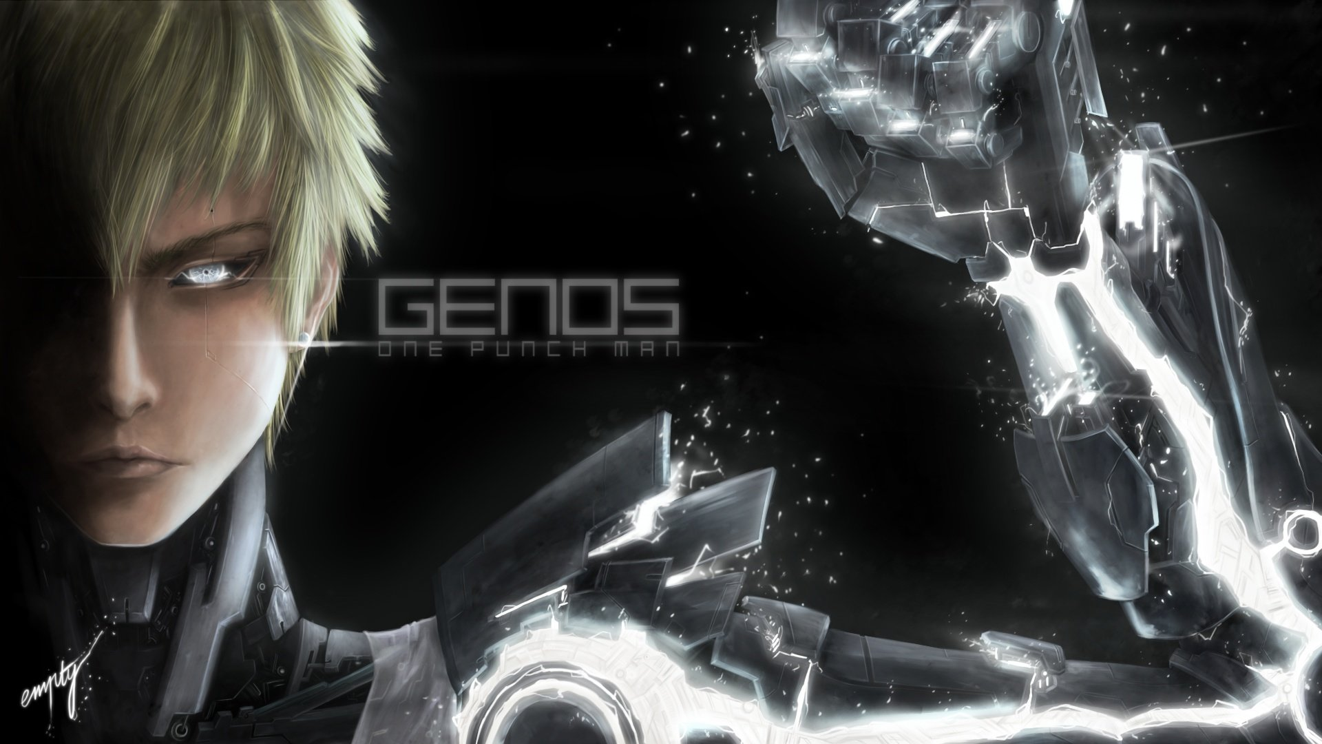 Awesome Genos (One-Punch Man) free background ID:345411 for 1080p PC